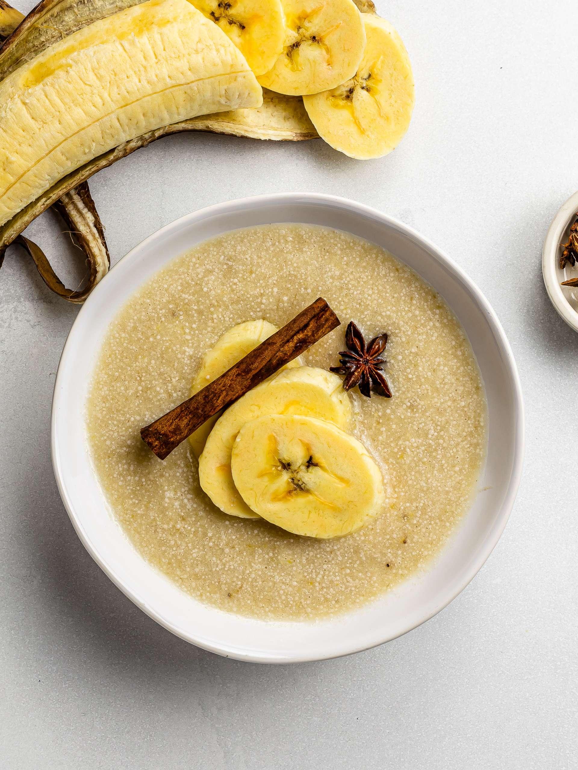 Haitian Plantain Porridge (Labouyi Bannann)