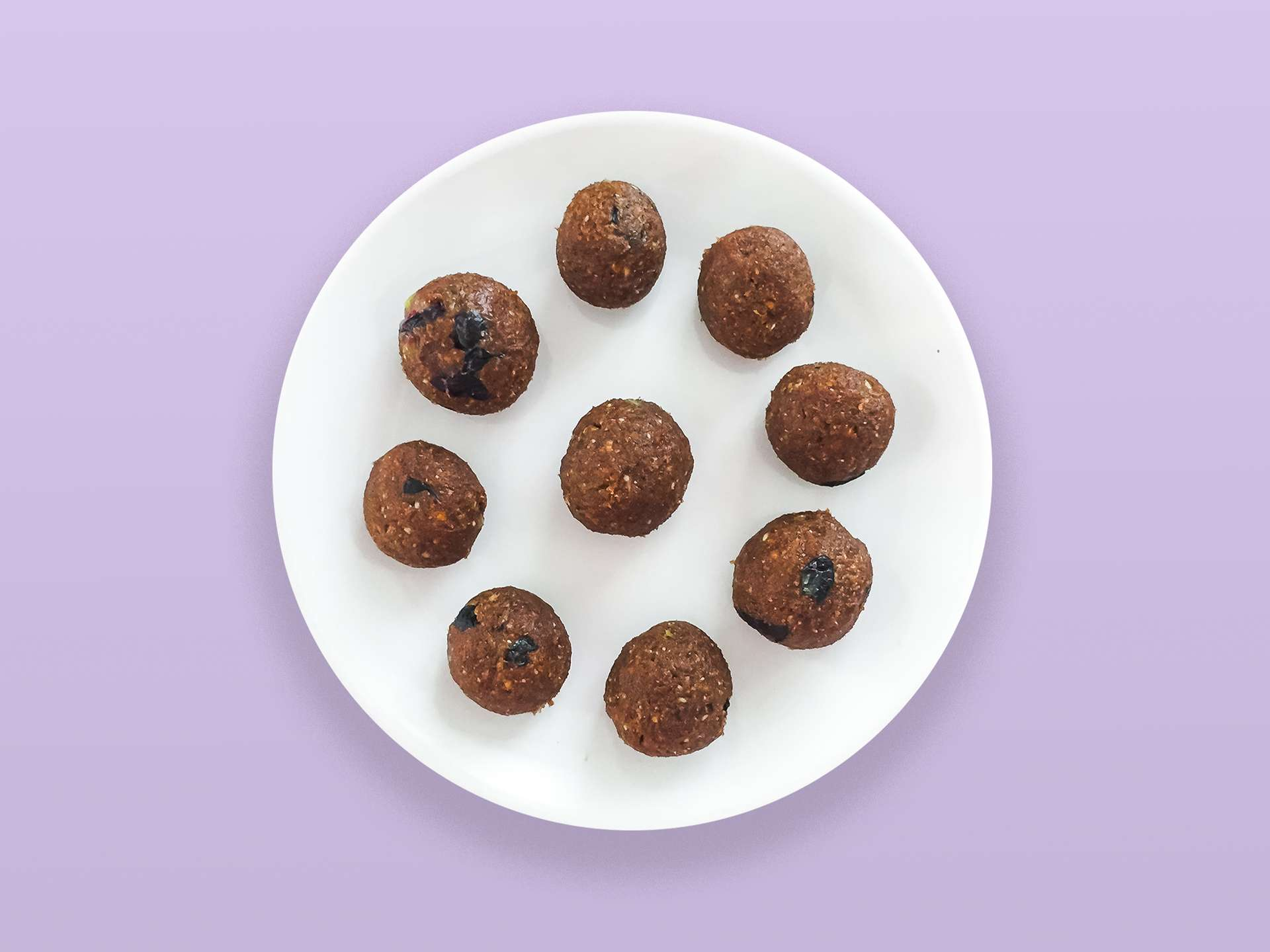 Step 3.1 of Gluten Free Blueberry and Almond Truffles