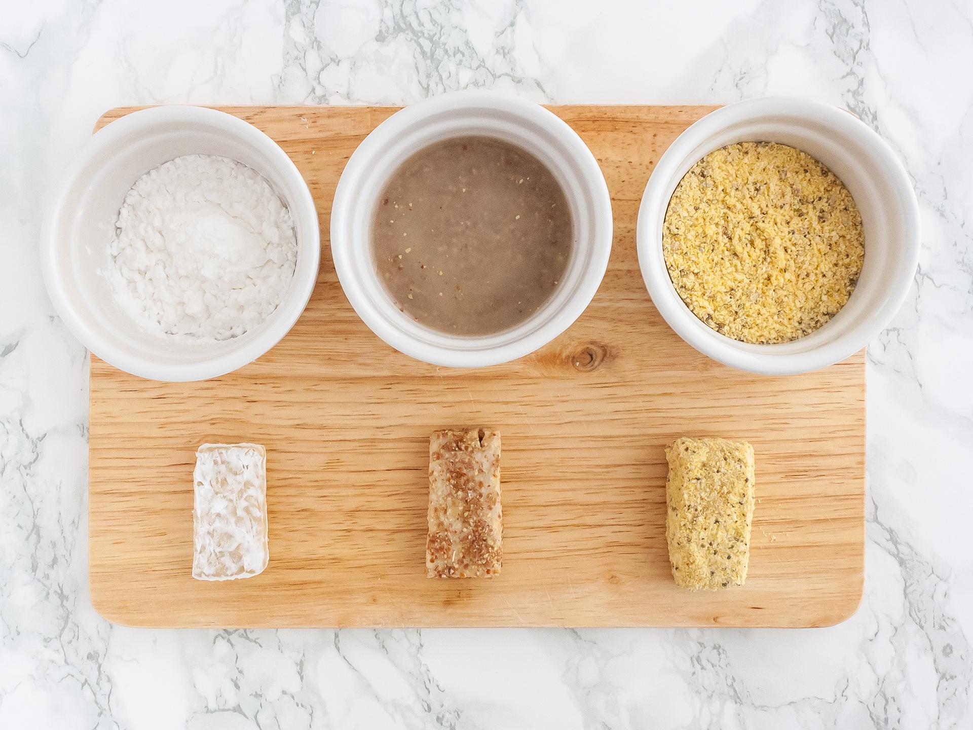 Step 2.2 of Crispy Tempeh Recipe