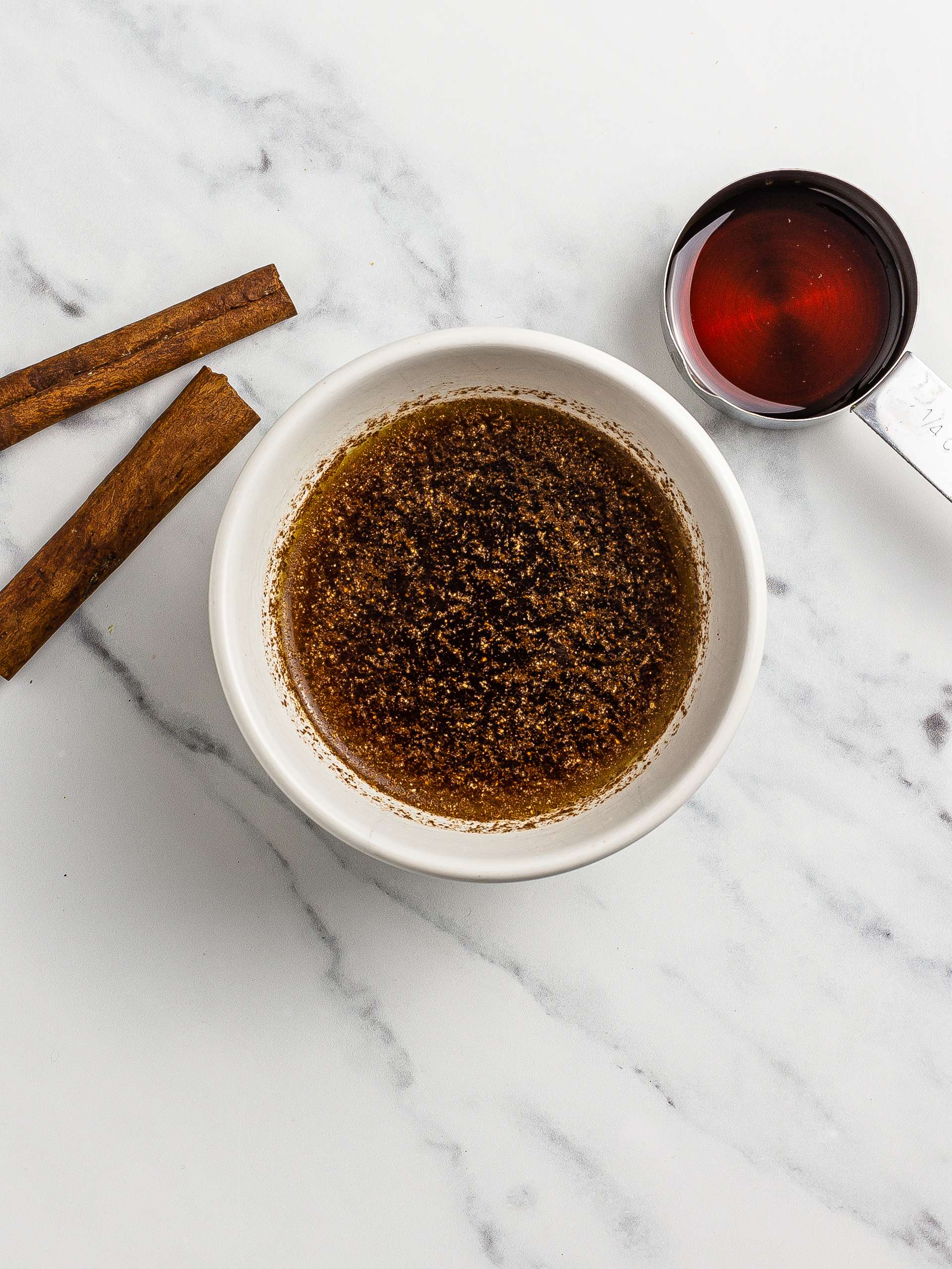 baklava syrup with cinnamon and maple