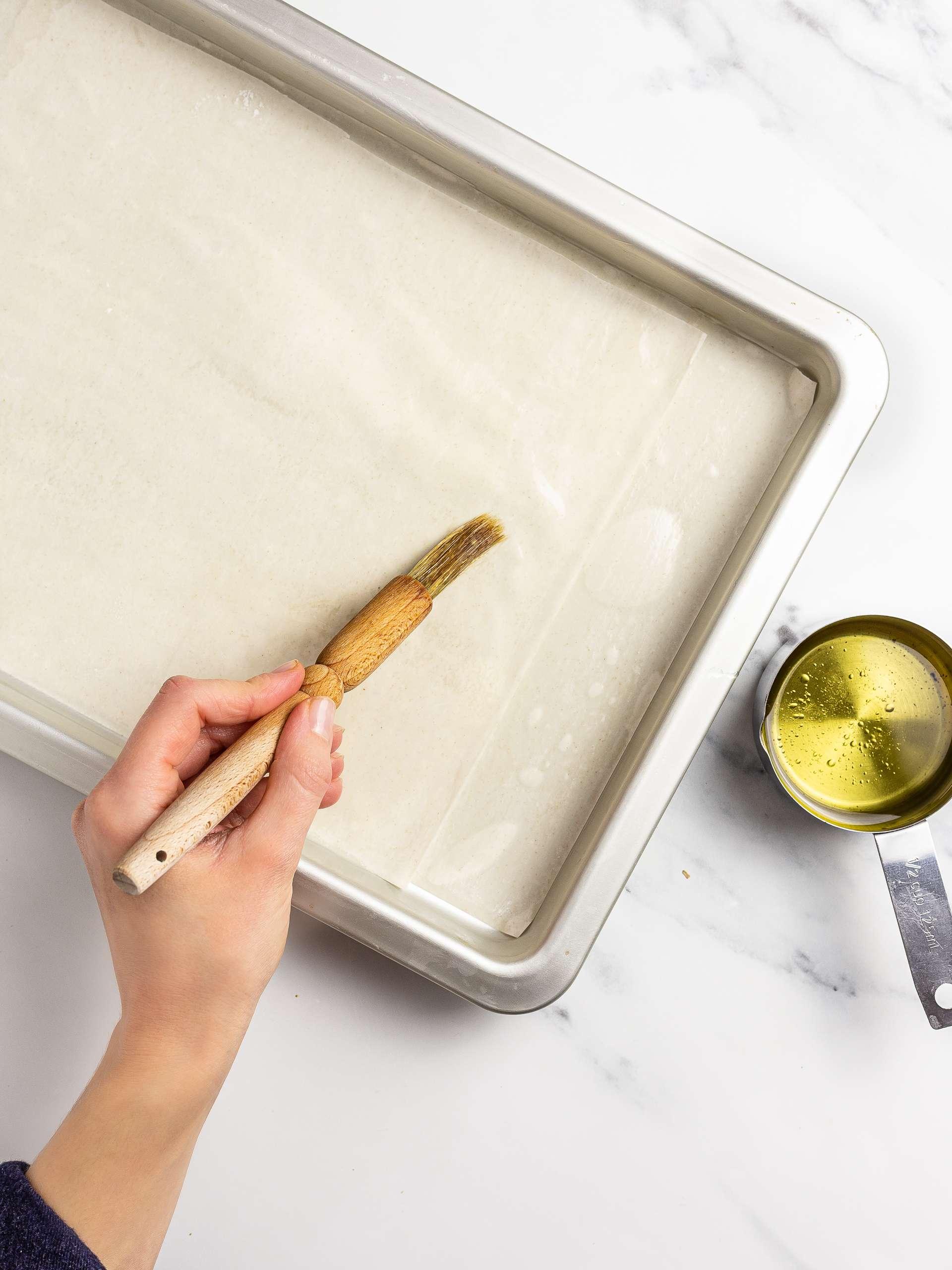 filo pastry for baklava