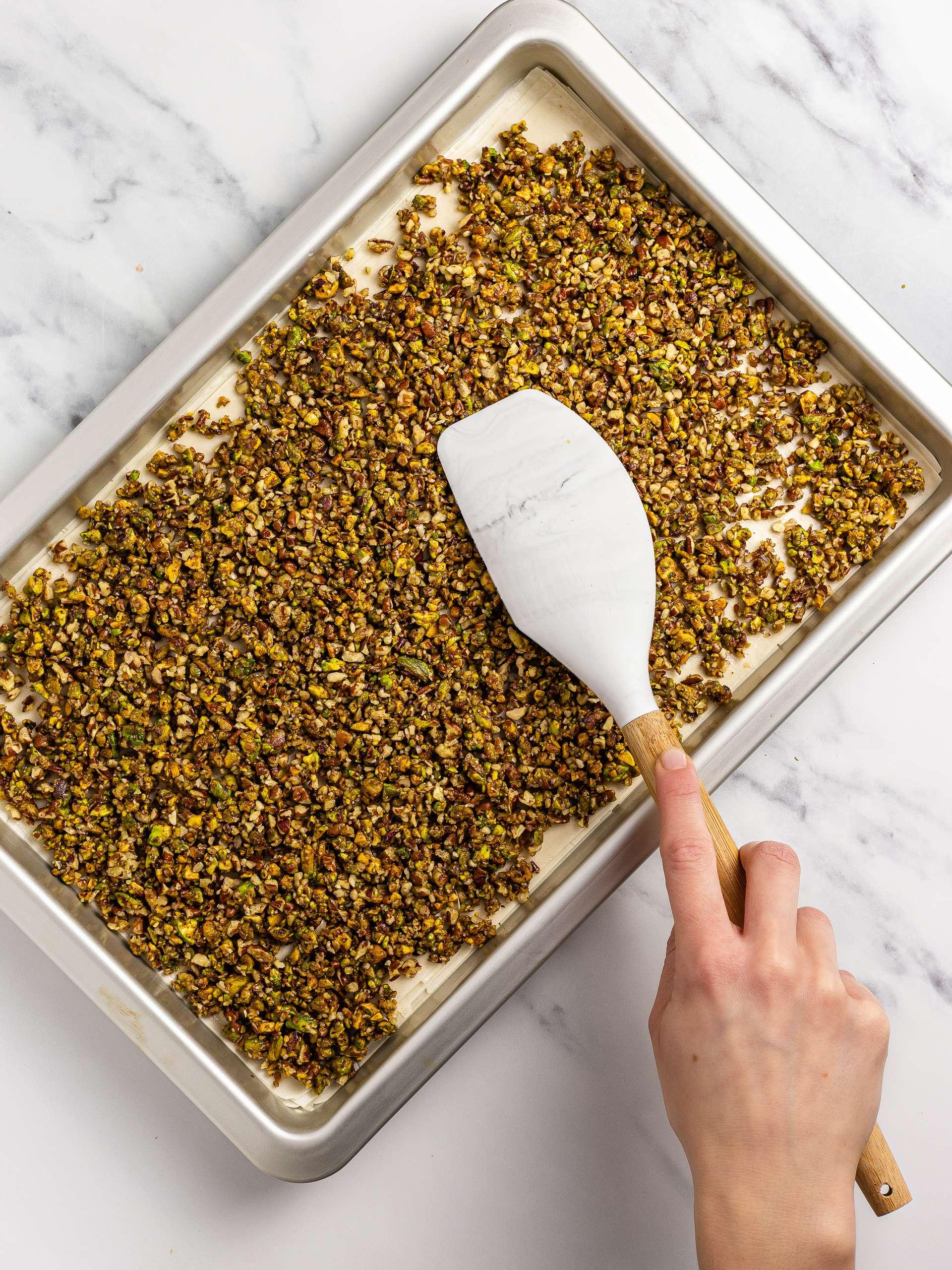 pistachio filling for baklava