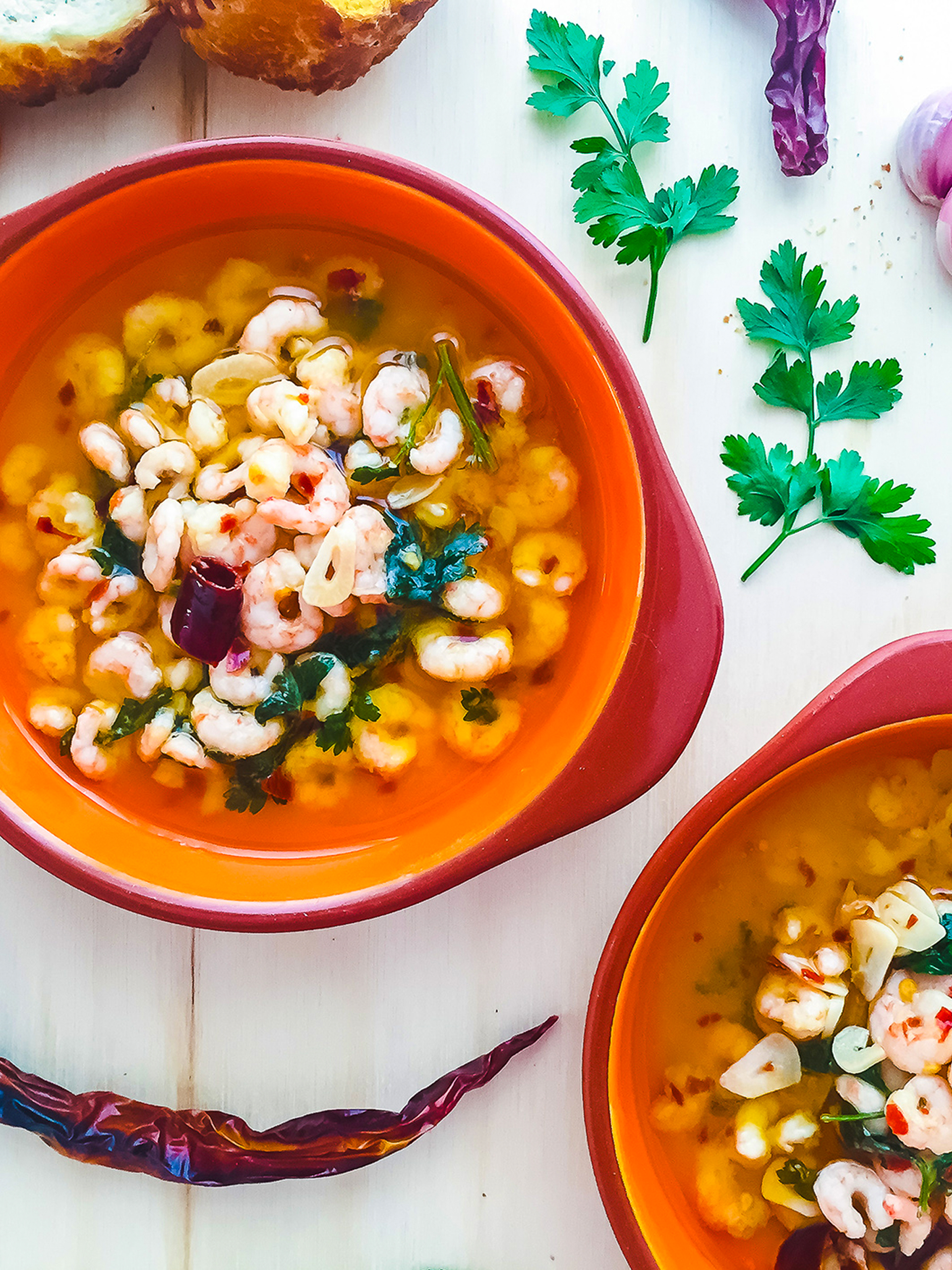 Classic Spanish Prawns with Garlic in Olive Oil  Preview
