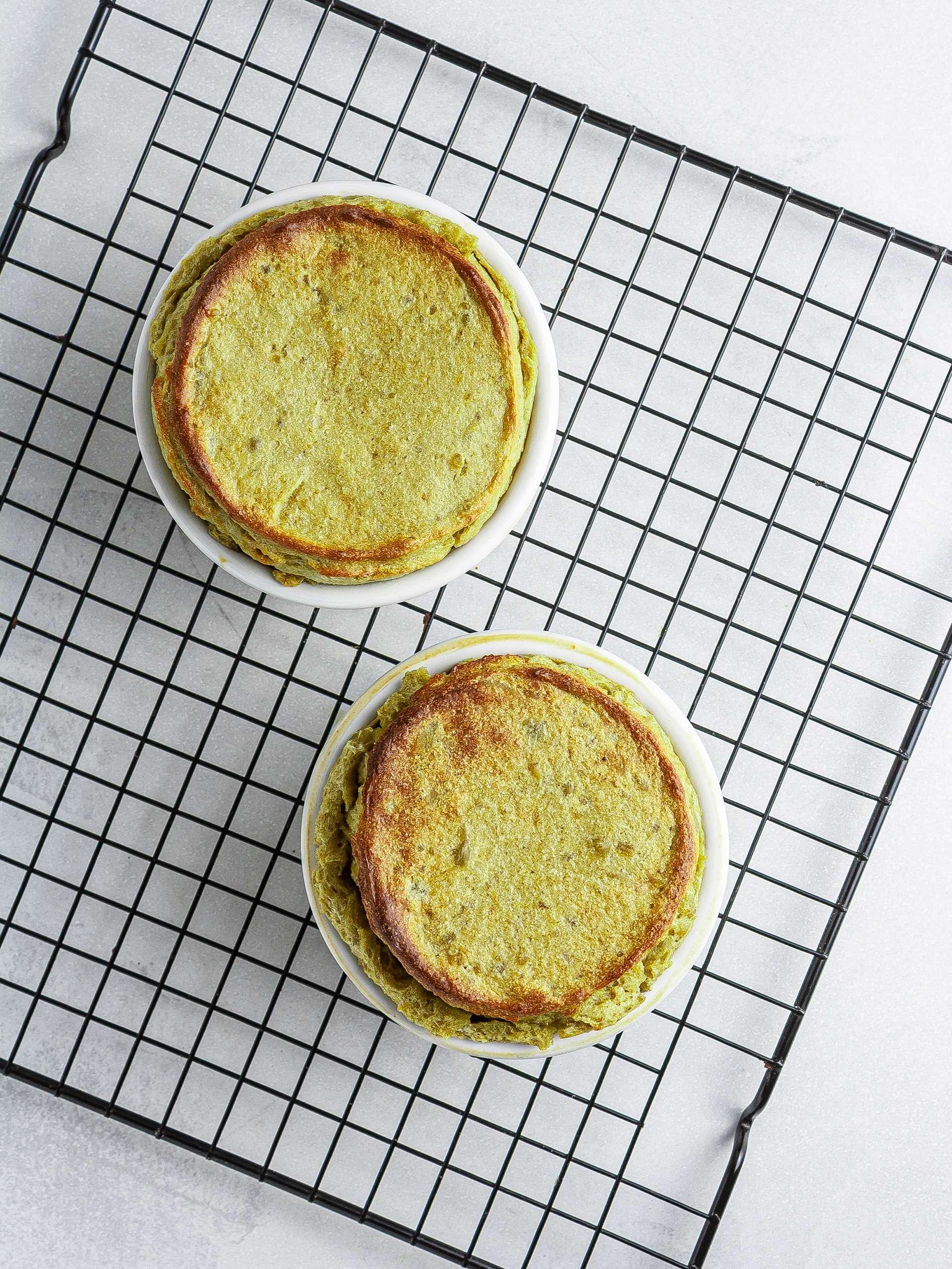 Step 5.2 of {Gluten-Free, Sugar-Free} Matcha Soufflé