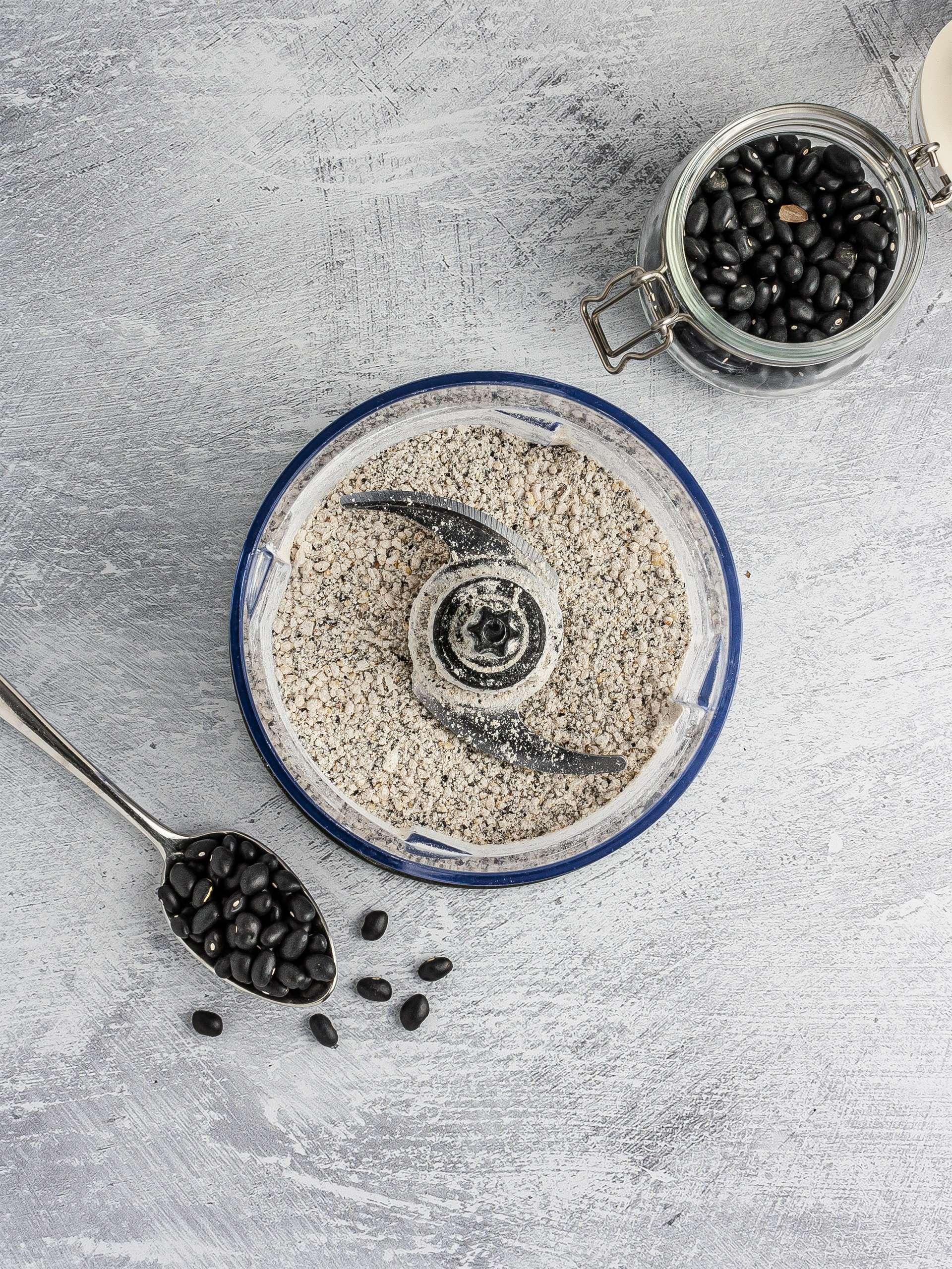 Black bean flour