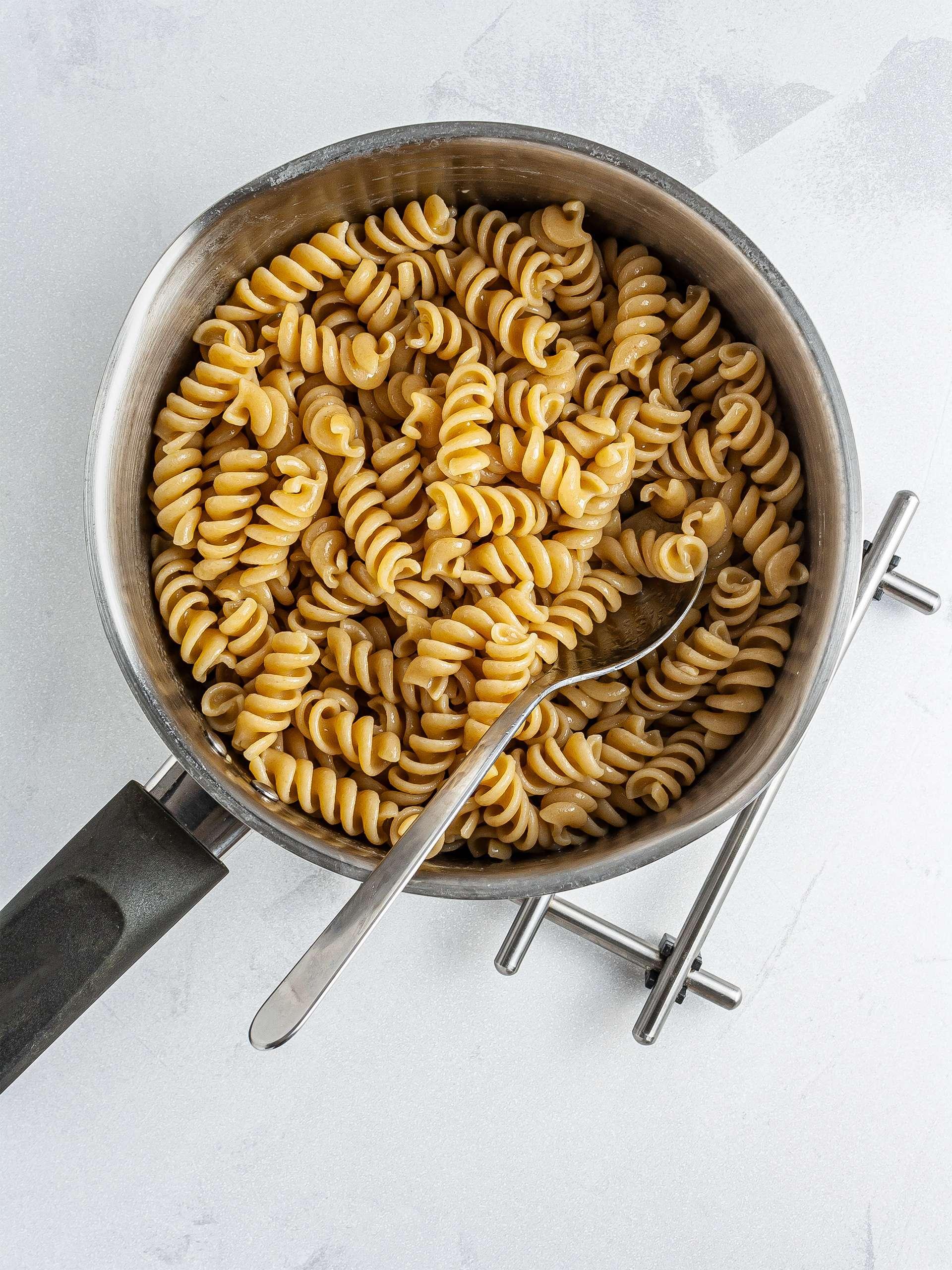 Step 1.2 of Vegan Tuna Pasta Salad Recipe