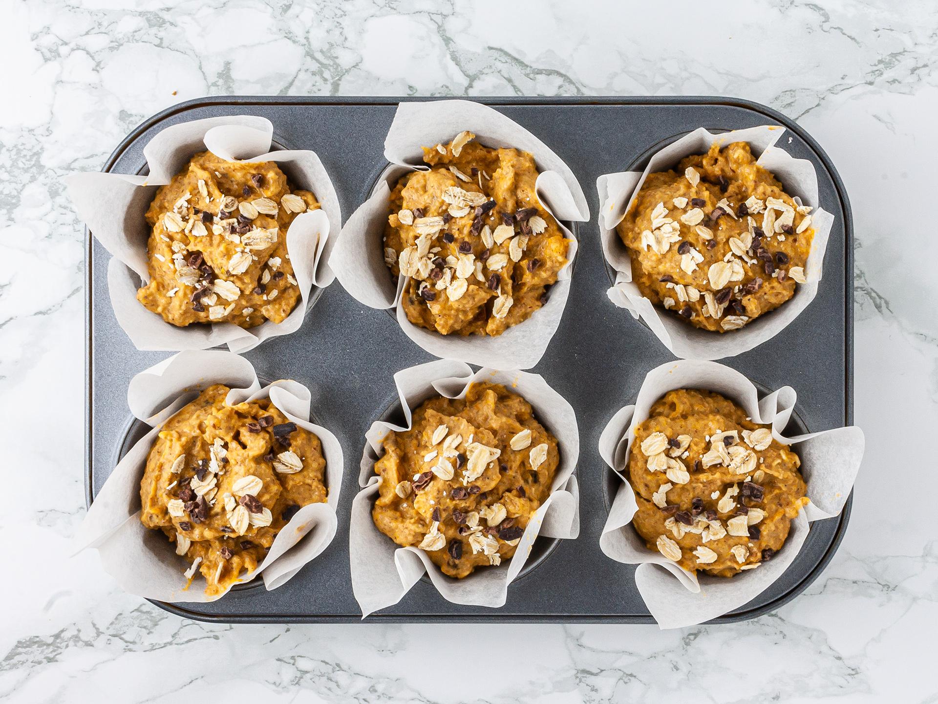 Step 3.1 of Low Fat Pumpkin Muffins Recipe