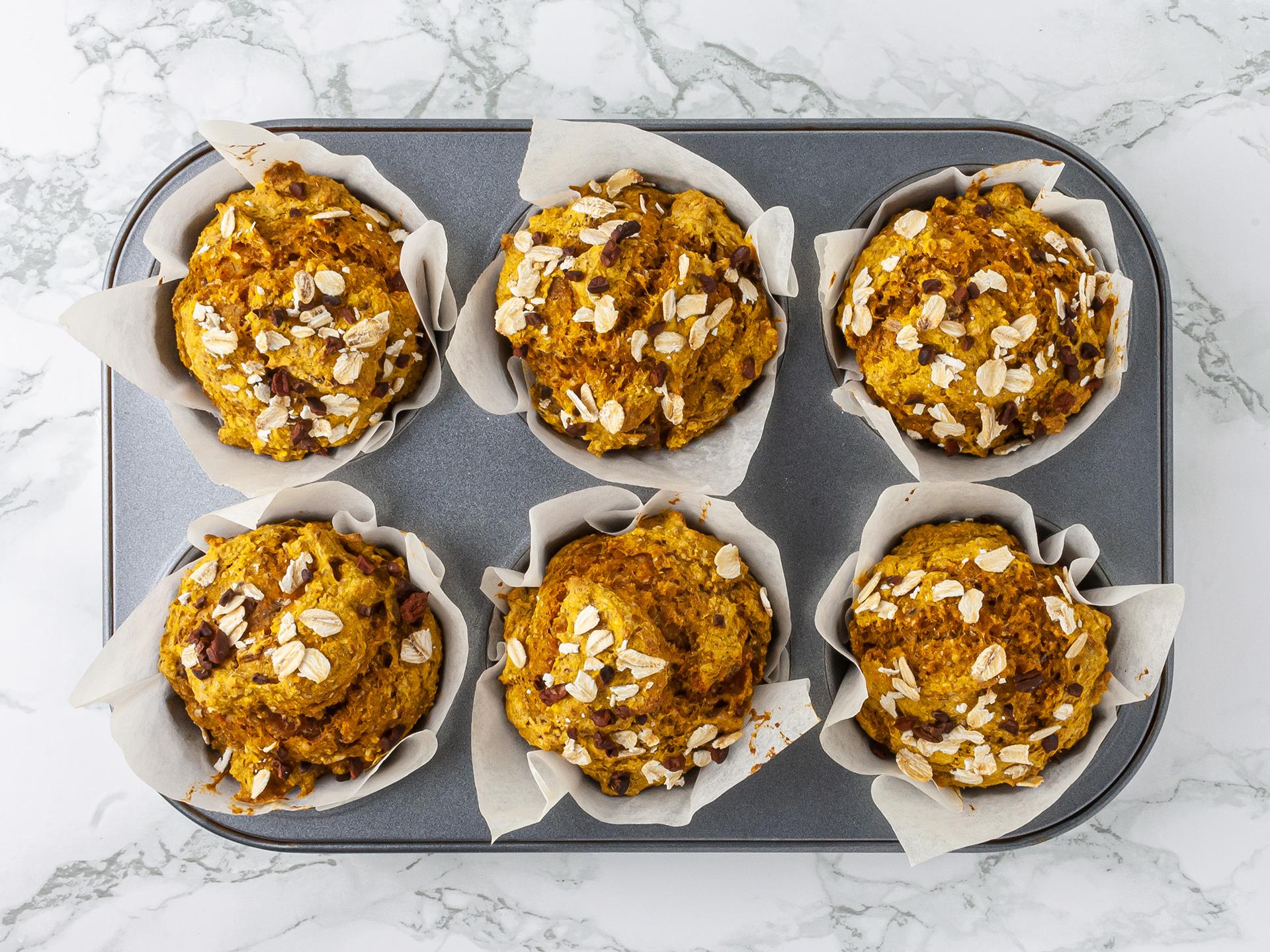 Step 4.1 of Low Fat Pumpkin Muffins Recipe