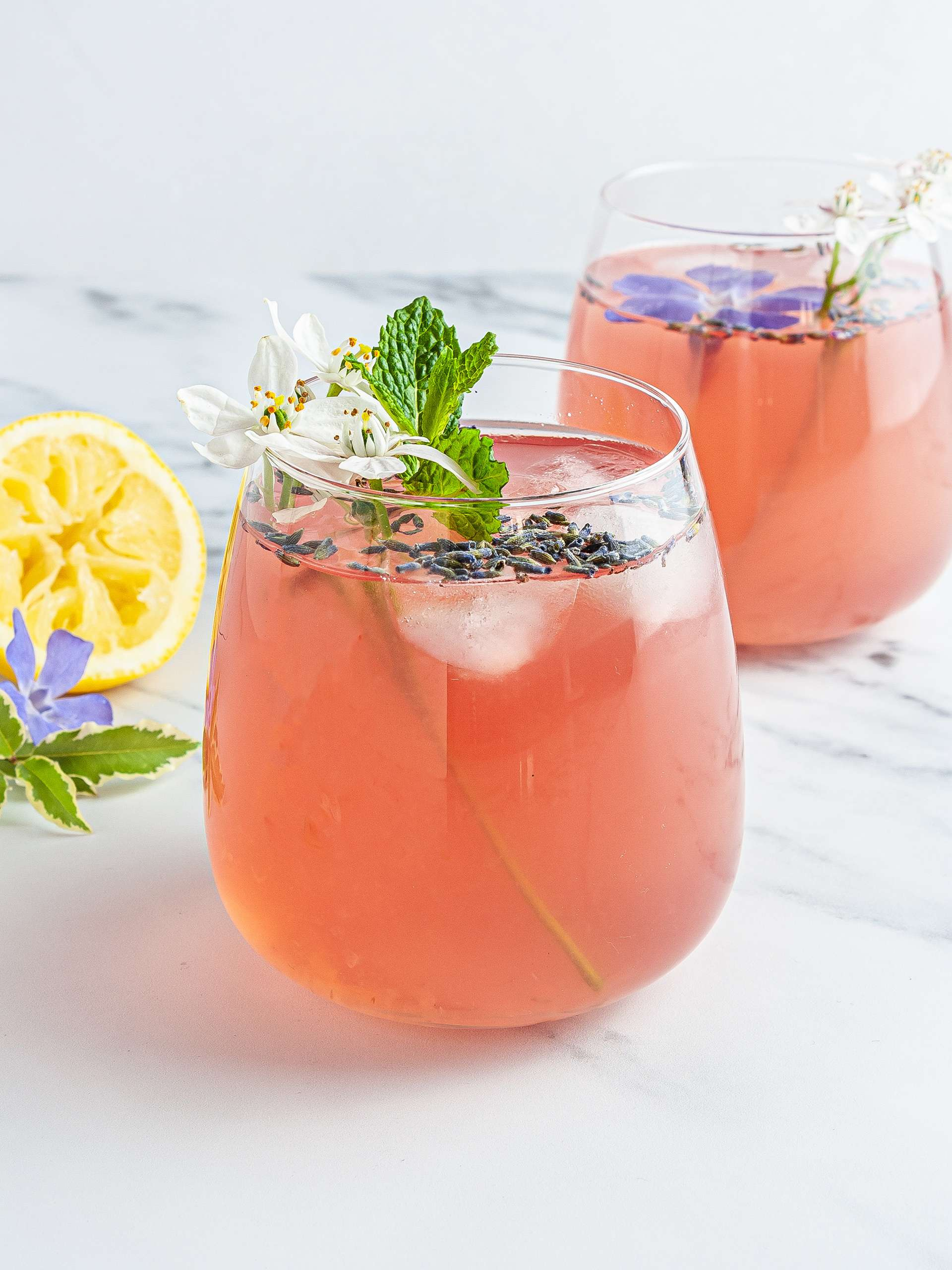 Sugar-Free Coconut Lavender Lemonade Thumbnail