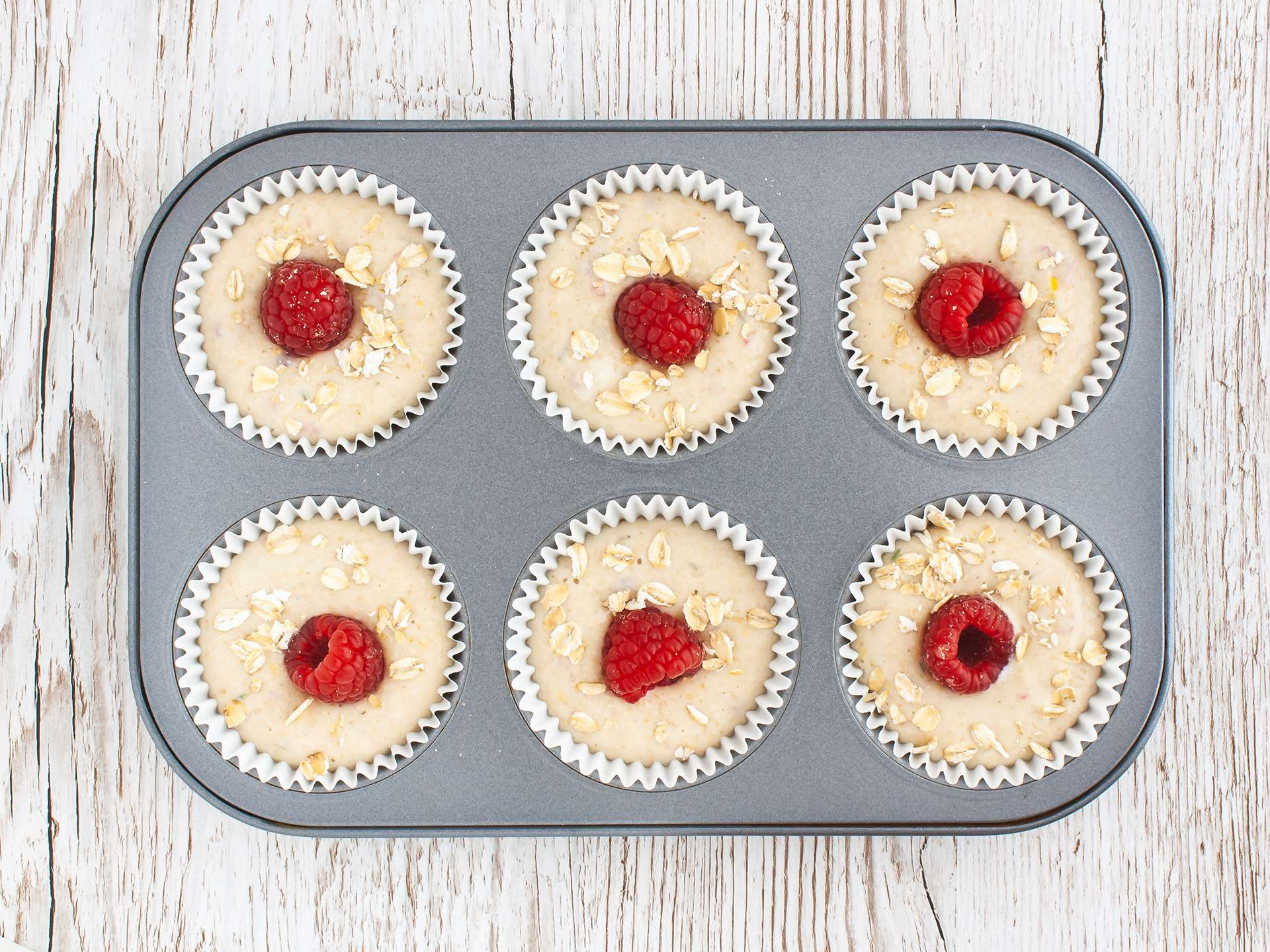 Step 3.1 of Gluten Free Raspberry Muffins Recipe