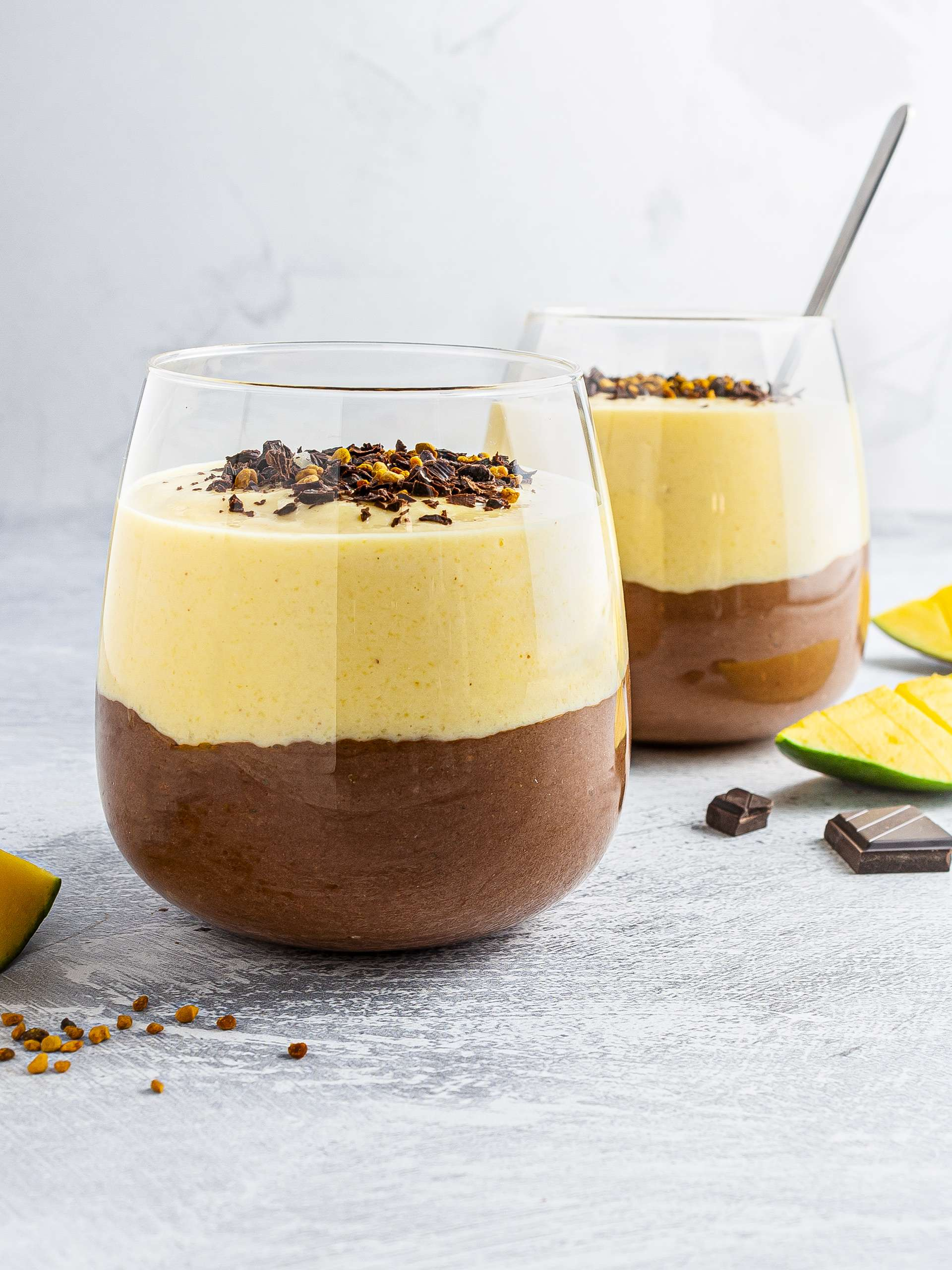 Mango and Chocolate Protein Smoothie Thumbnail