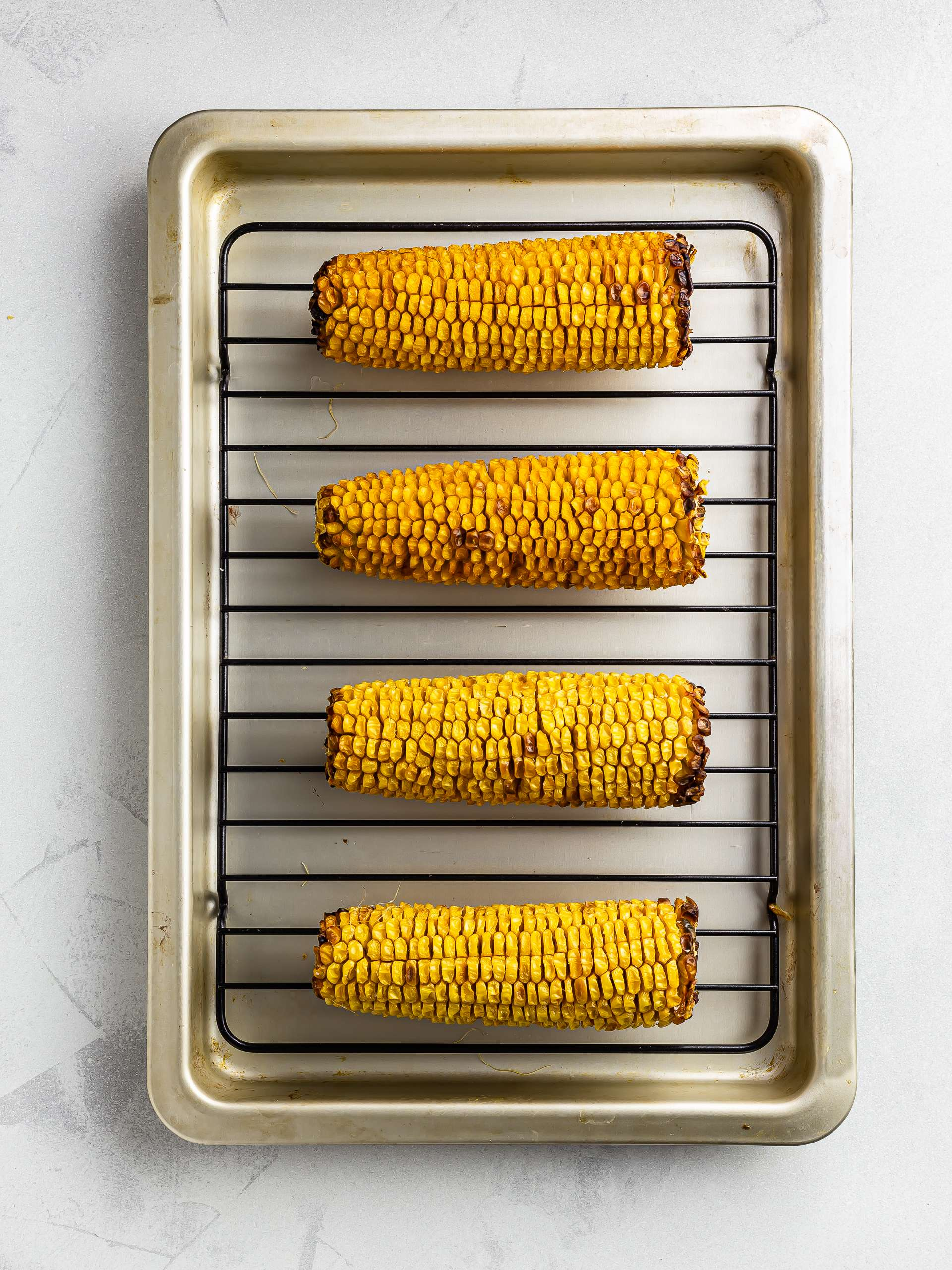 corn the cob grilled in the oven