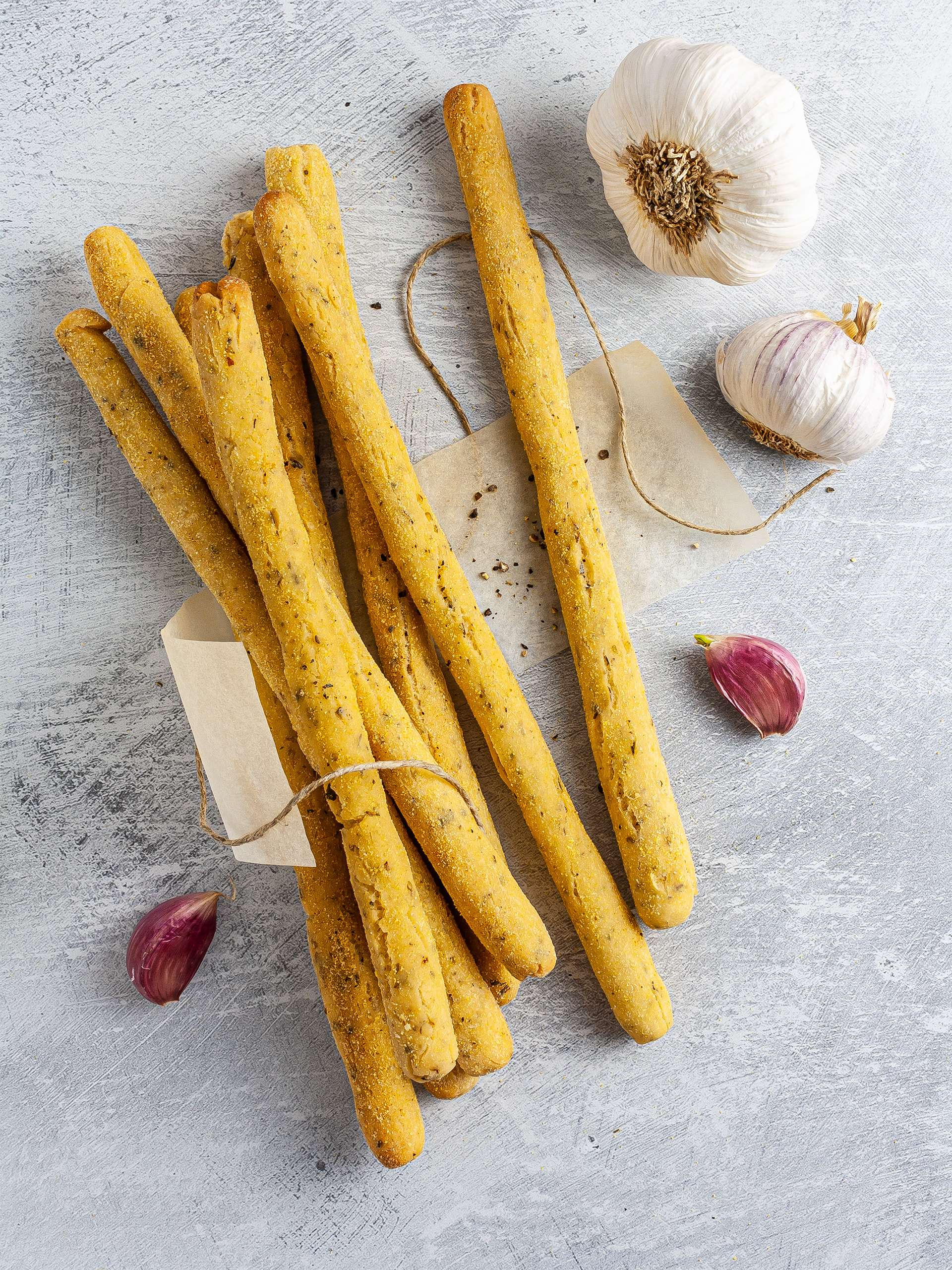 Gluten-Free Garlic Breadsticks Recipe