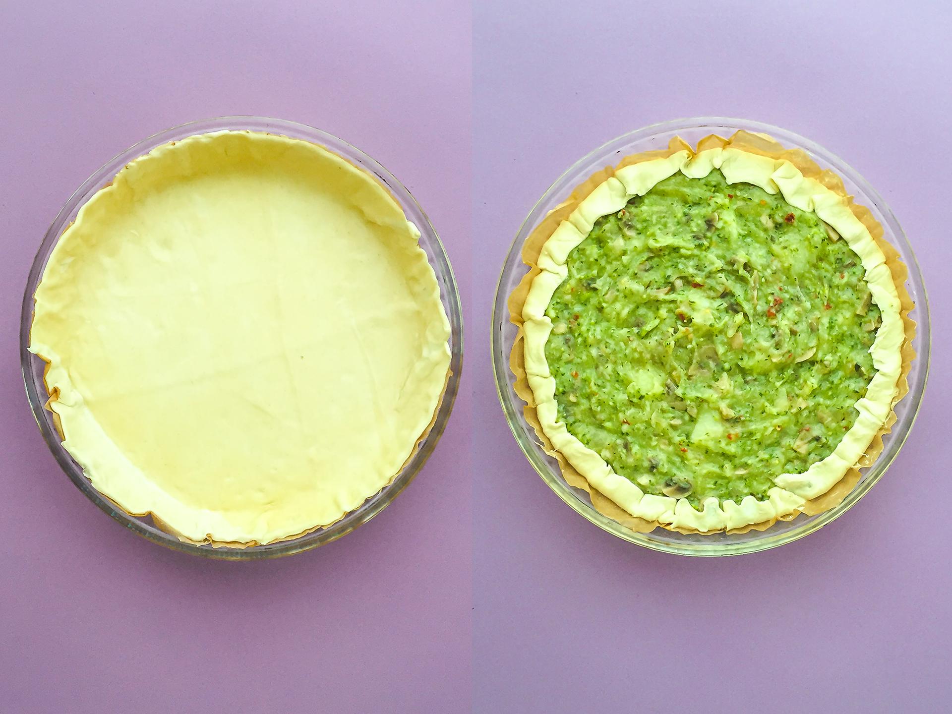 Step 4.1 of Easy Vegan Halloween Party Pie