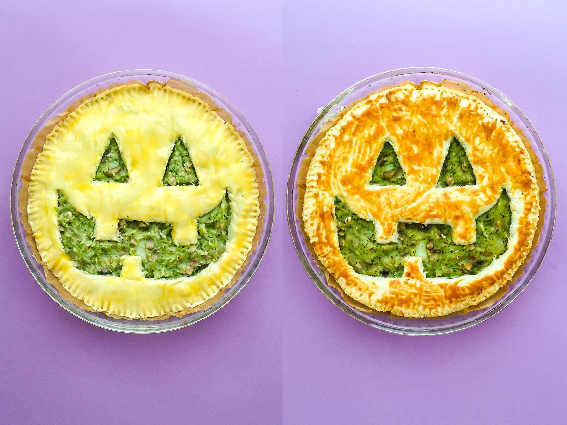 Step 5.1 of Easy Vegan Halloween Party Pie