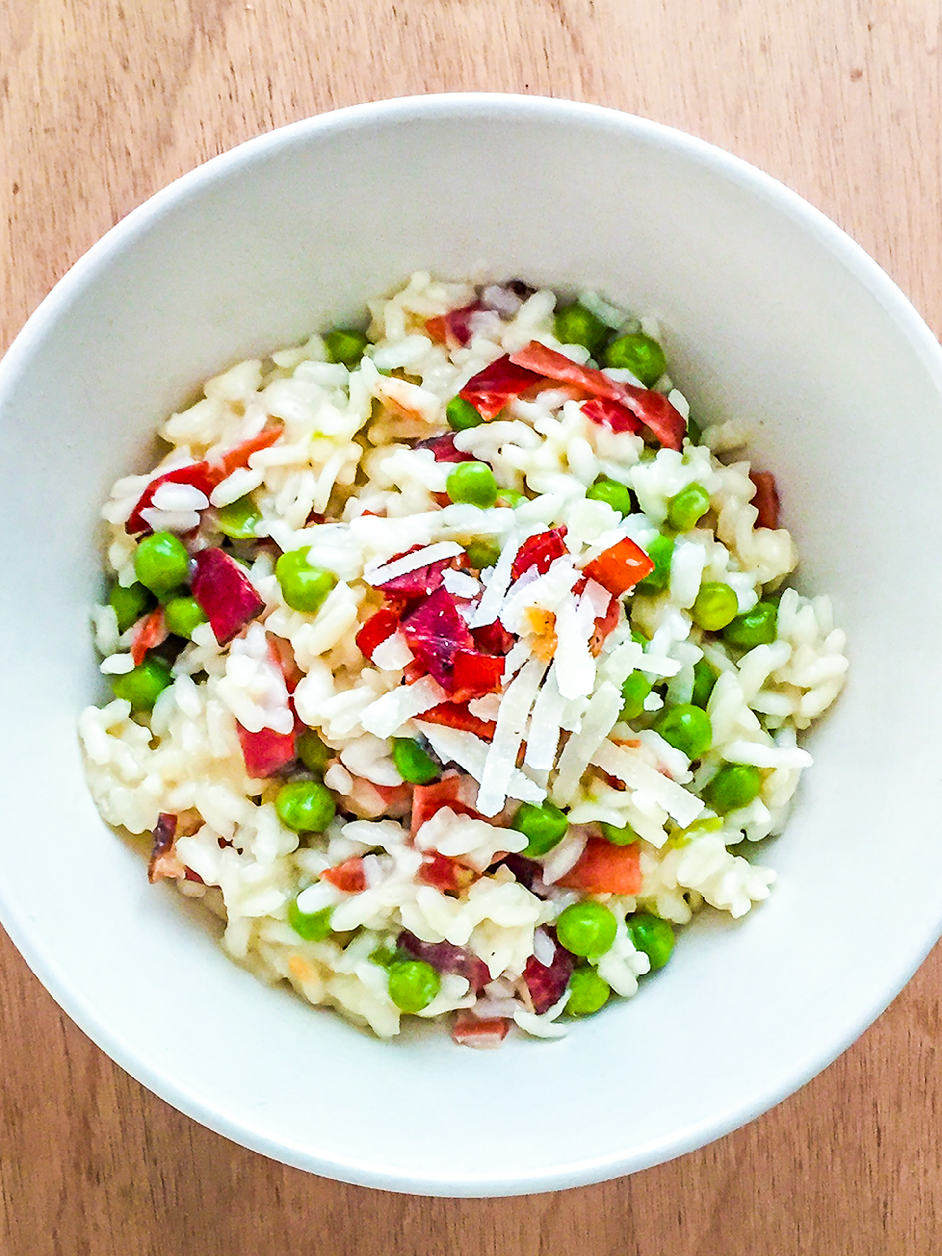 Smoked Ham and Peas Risotto Recipe Preview