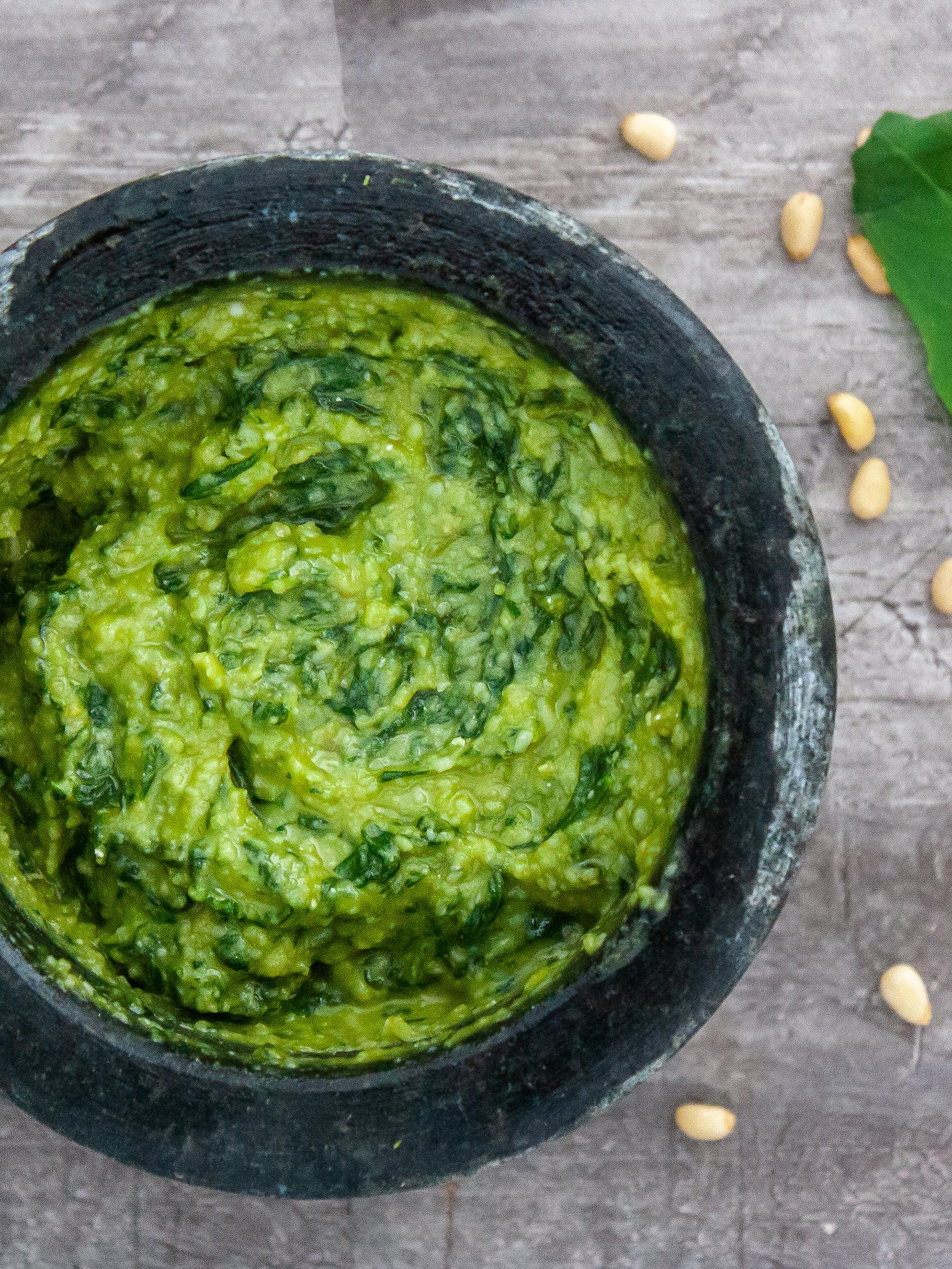 Authentic Pesto Genovese Recipe Thumbnail