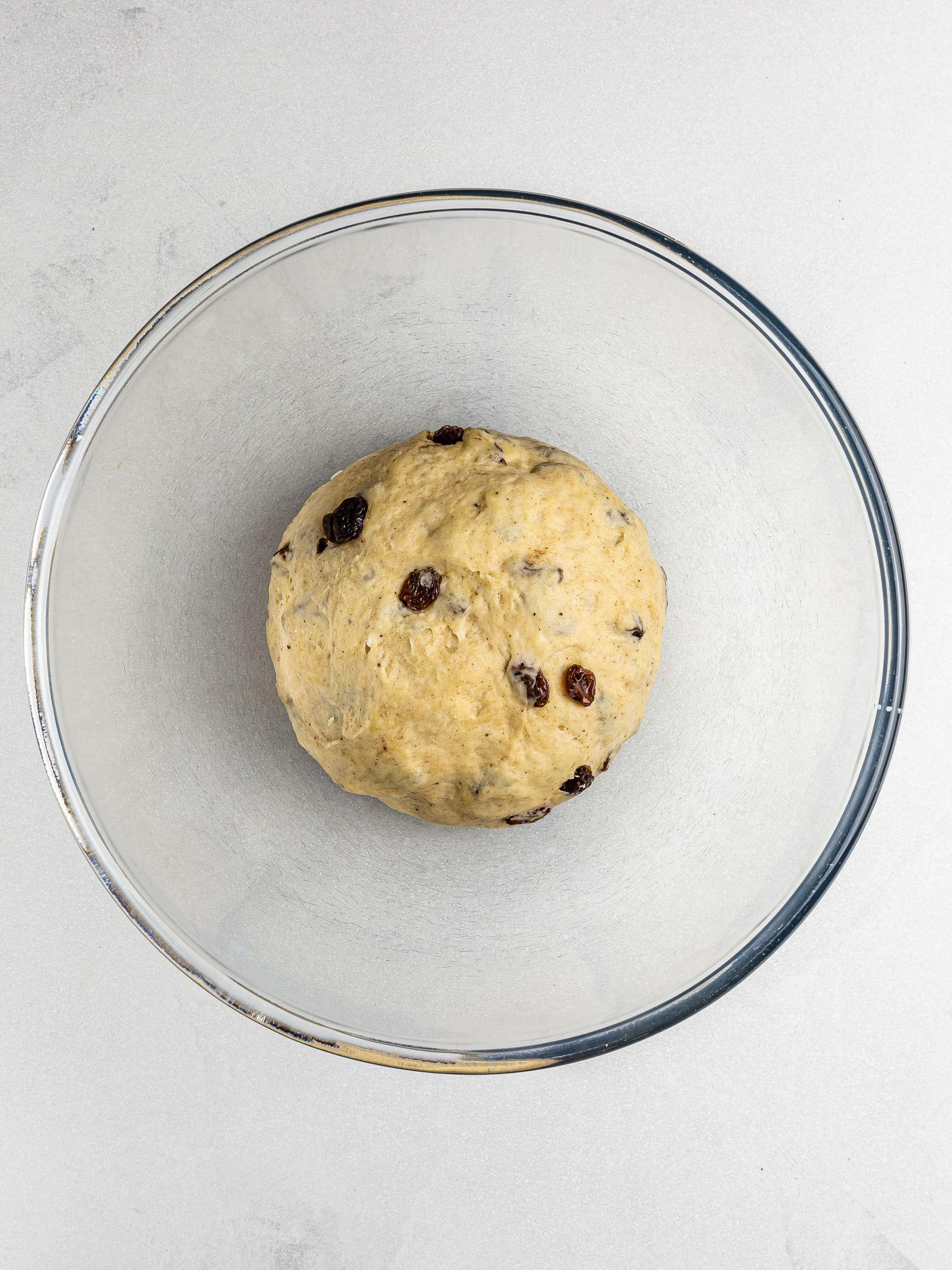 vegan welsh cake dough