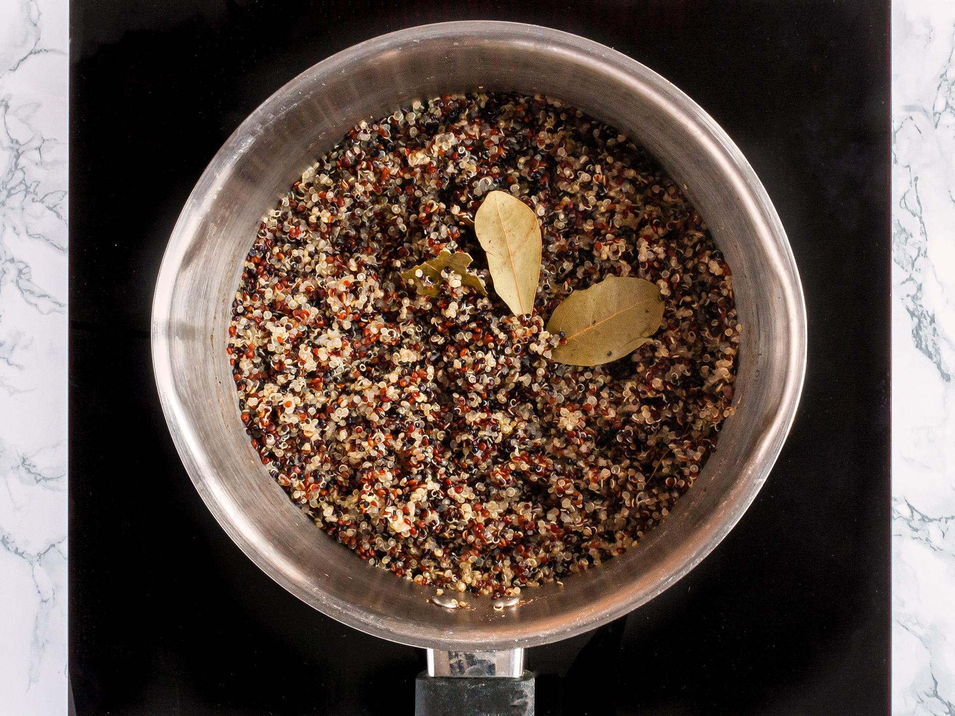 Step 2.1 of Pumpkin Quinoa Salad Recipe