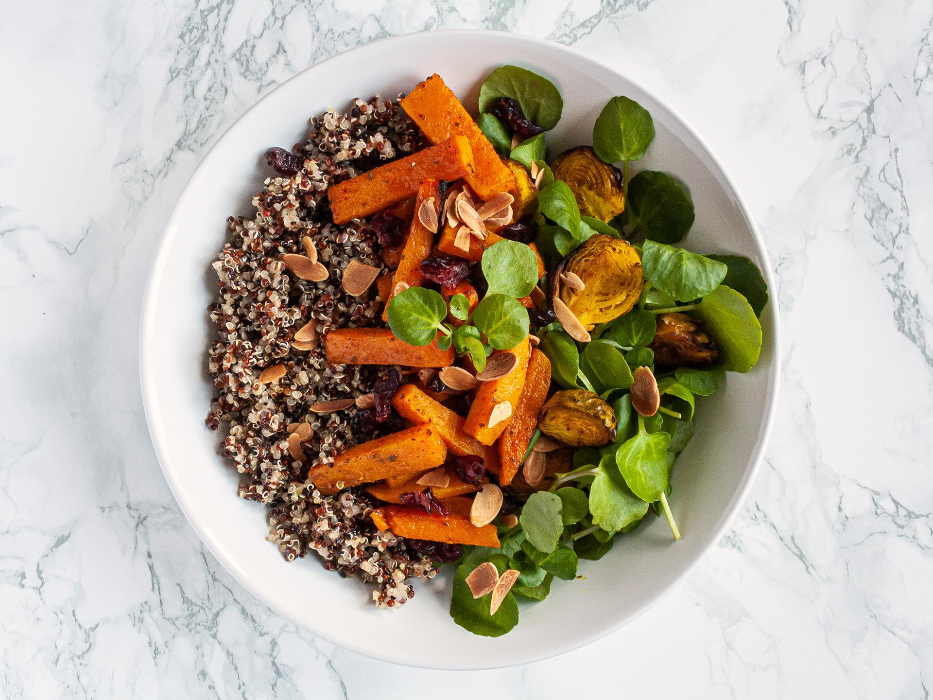 Step 3.1 of Pumpkin Quinoa Salad Recipe