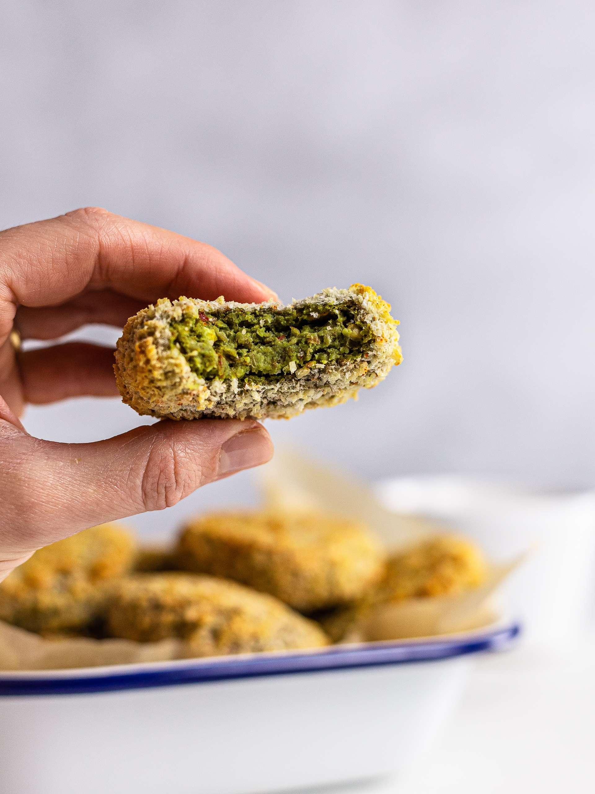 Spinach Lentil Nuggets with Tofu Recipe Thumbnail