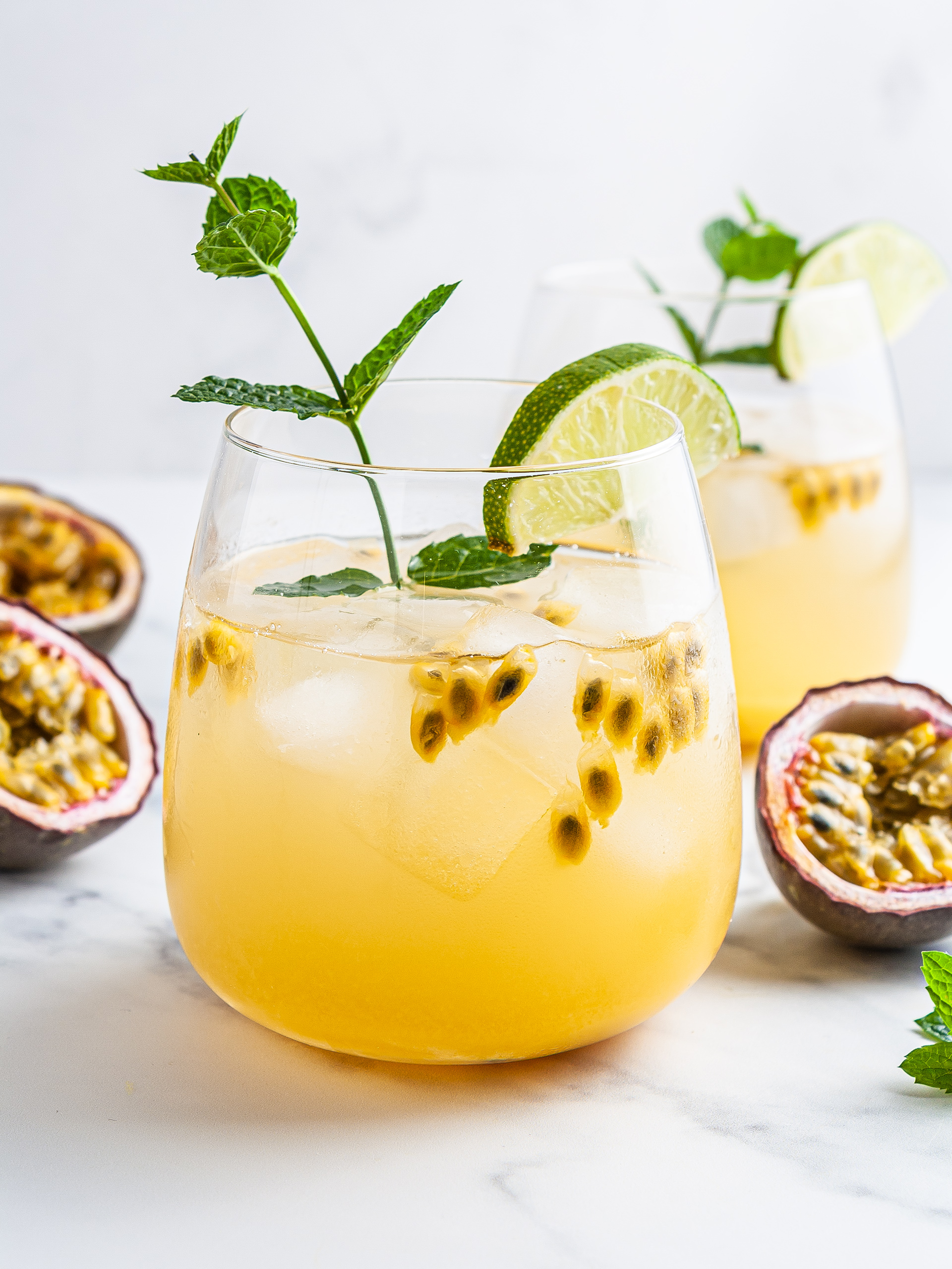 Passion Fruit Iced Tea Recipe Thumbnail