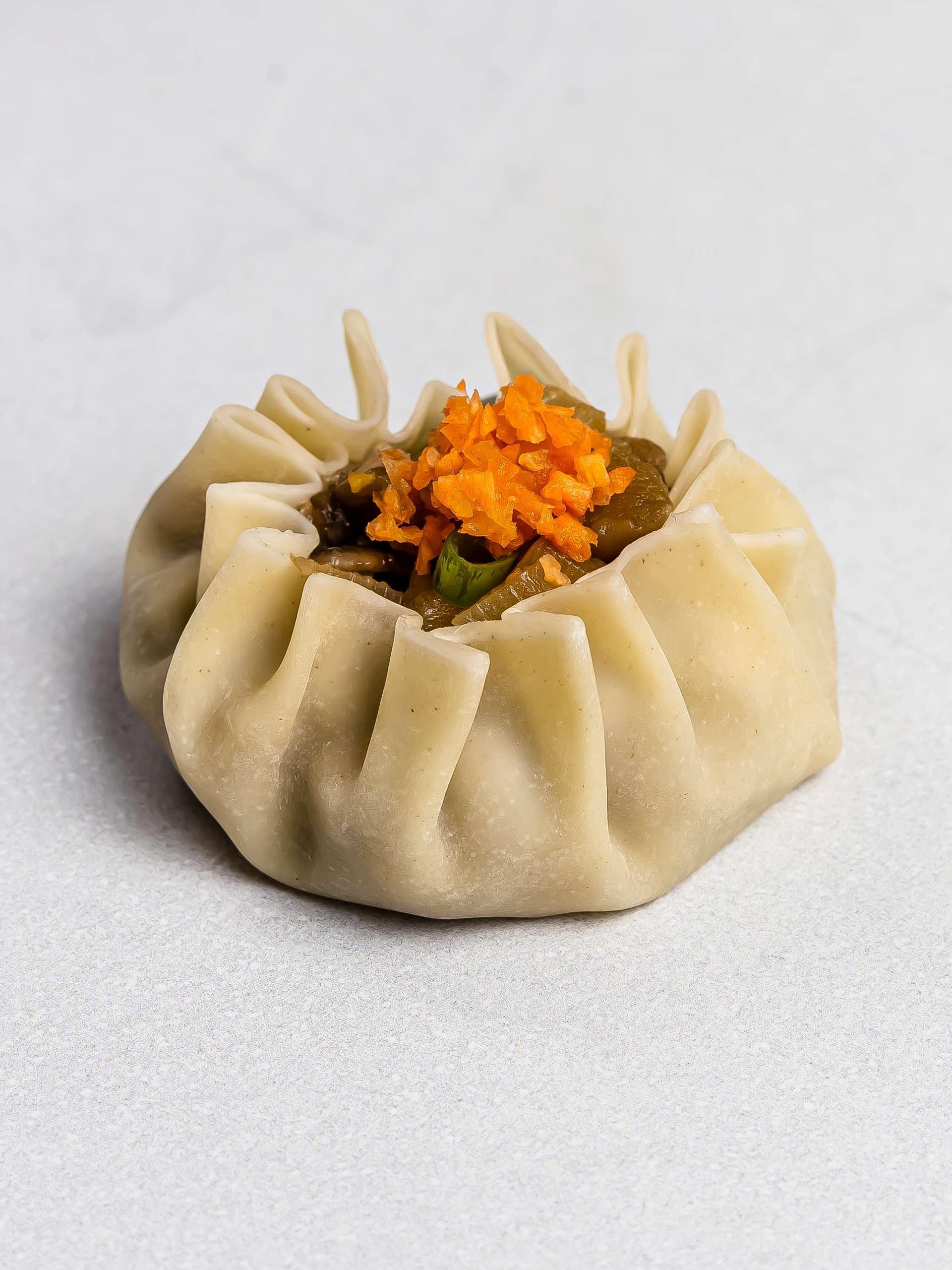 vegan siomai dumpling