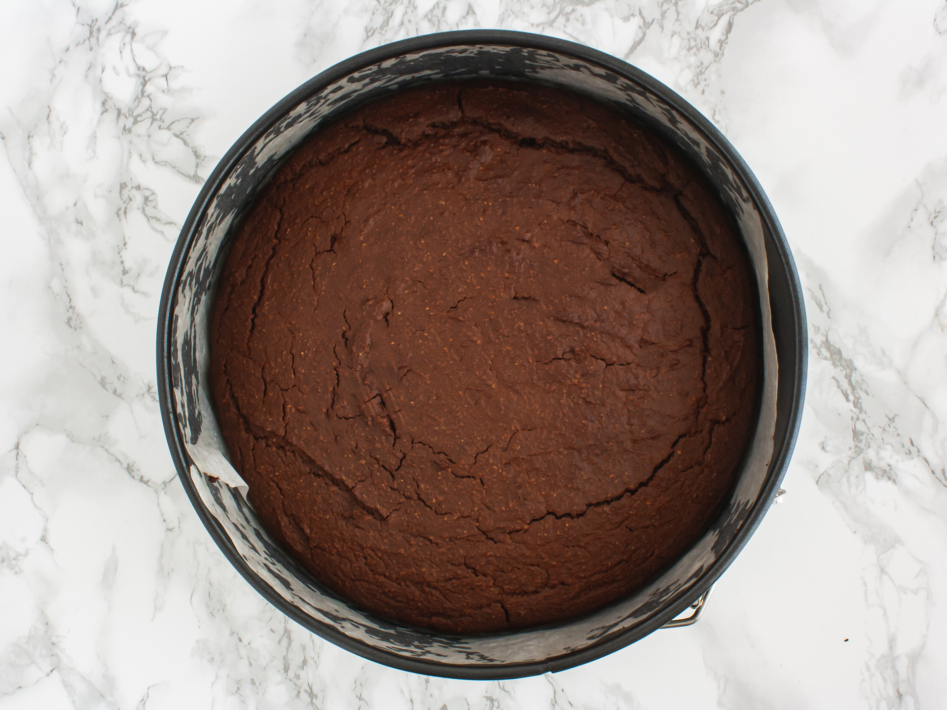 Step 3.1 of Vegan Chocolate Raspberry Cake Recipe