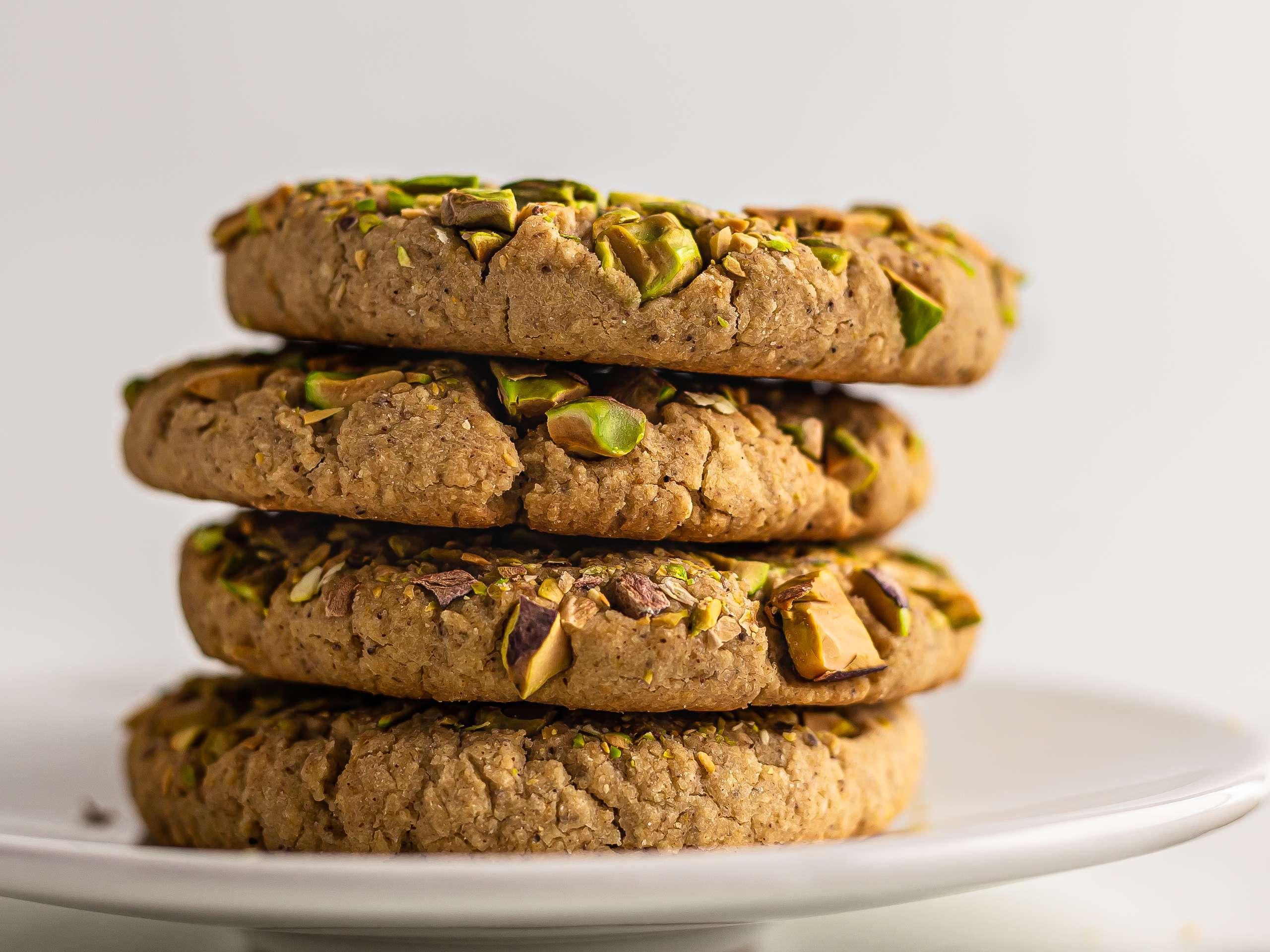 Vegan Tahini Cookies (Sugar-Free, Gluten-Free)
