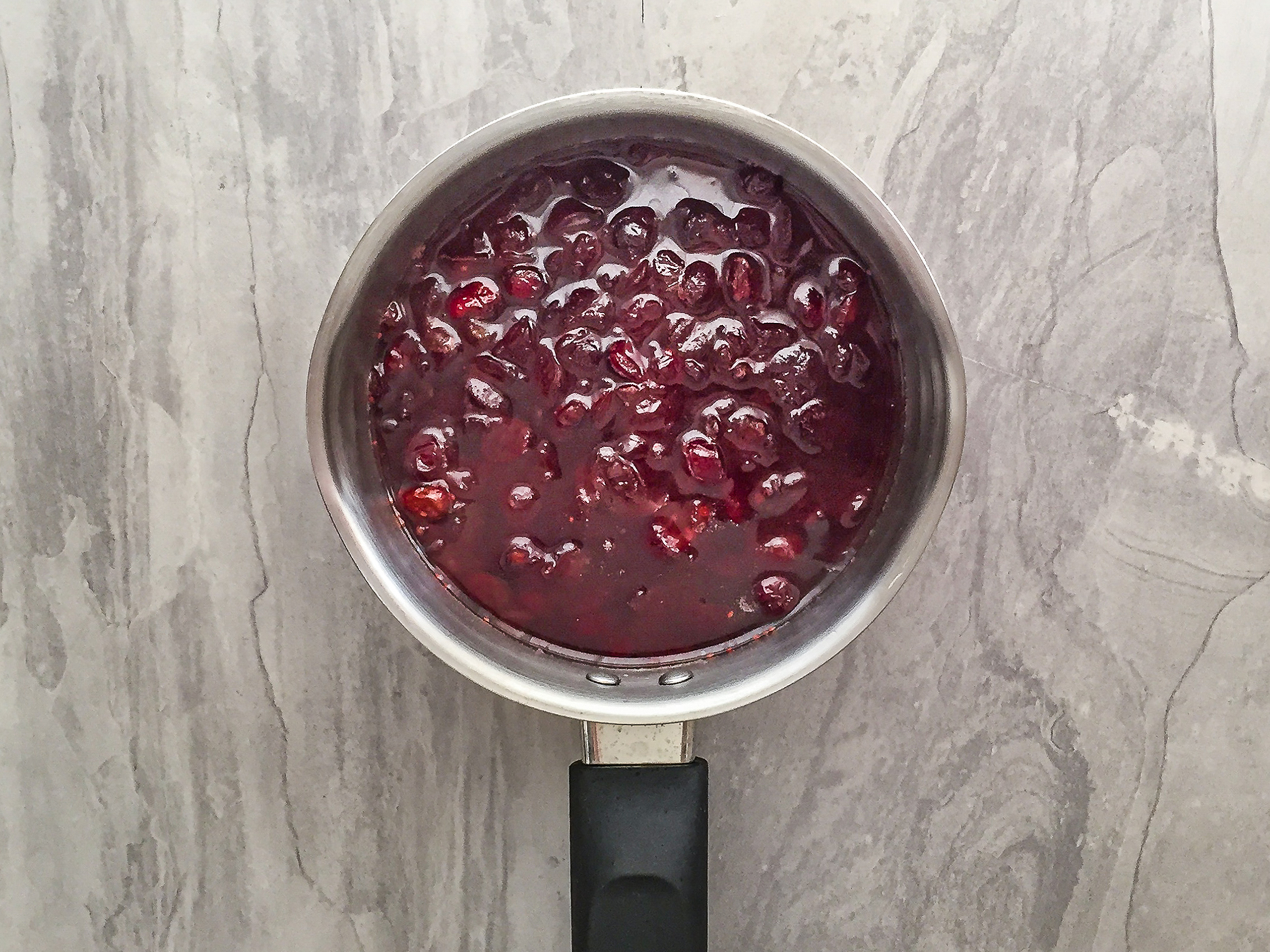 Step 2.1 of Low Carb Dried Cranberry Sauce without Sugar