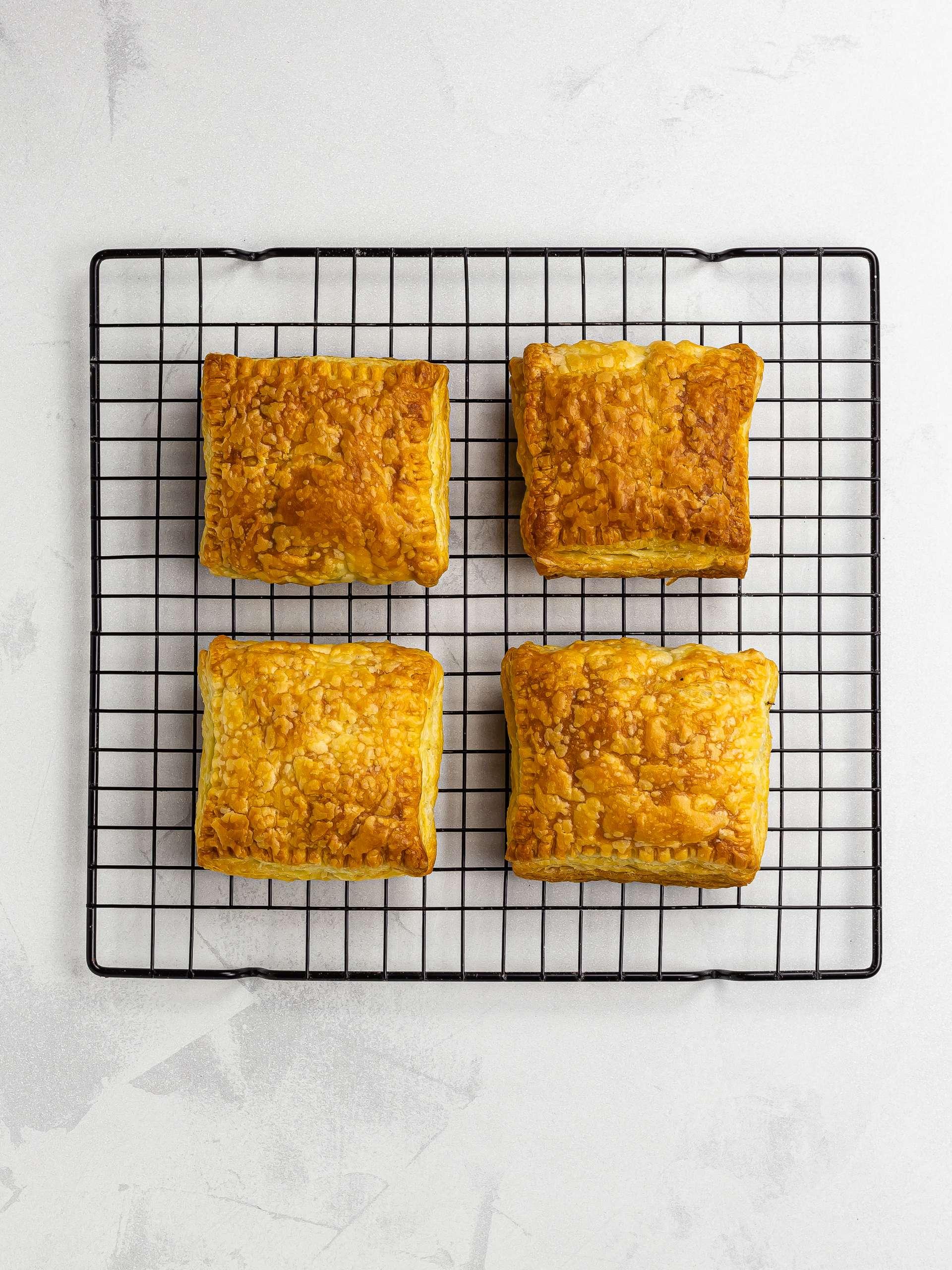oven-baked haitian patties
