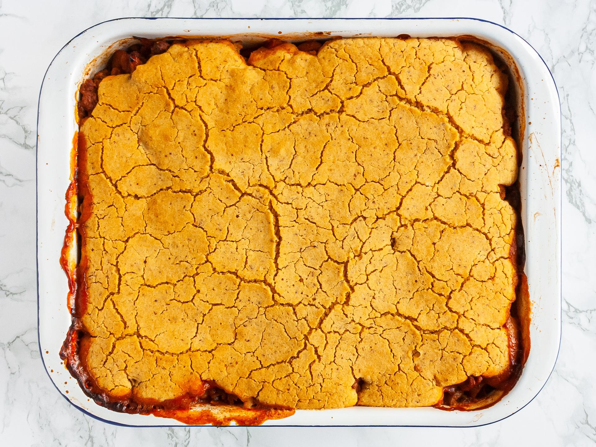 Step 4.1 of Gluten Free Cowboy Pie Recipe