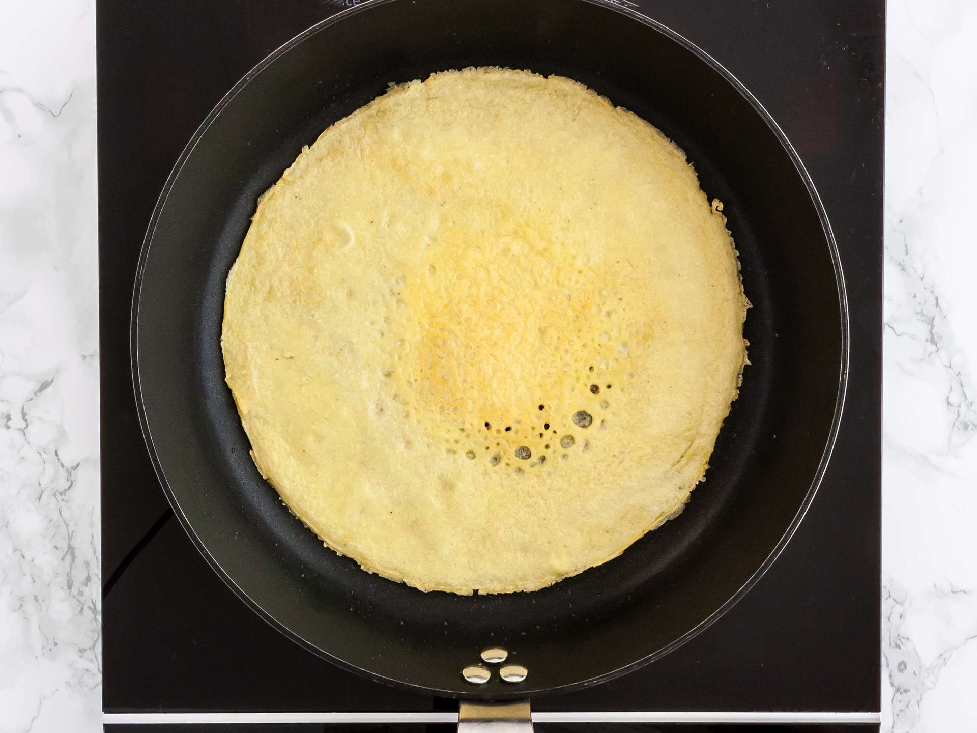 Step 3.1 of Gluten Free Rice Flour Crêpes Recipe
