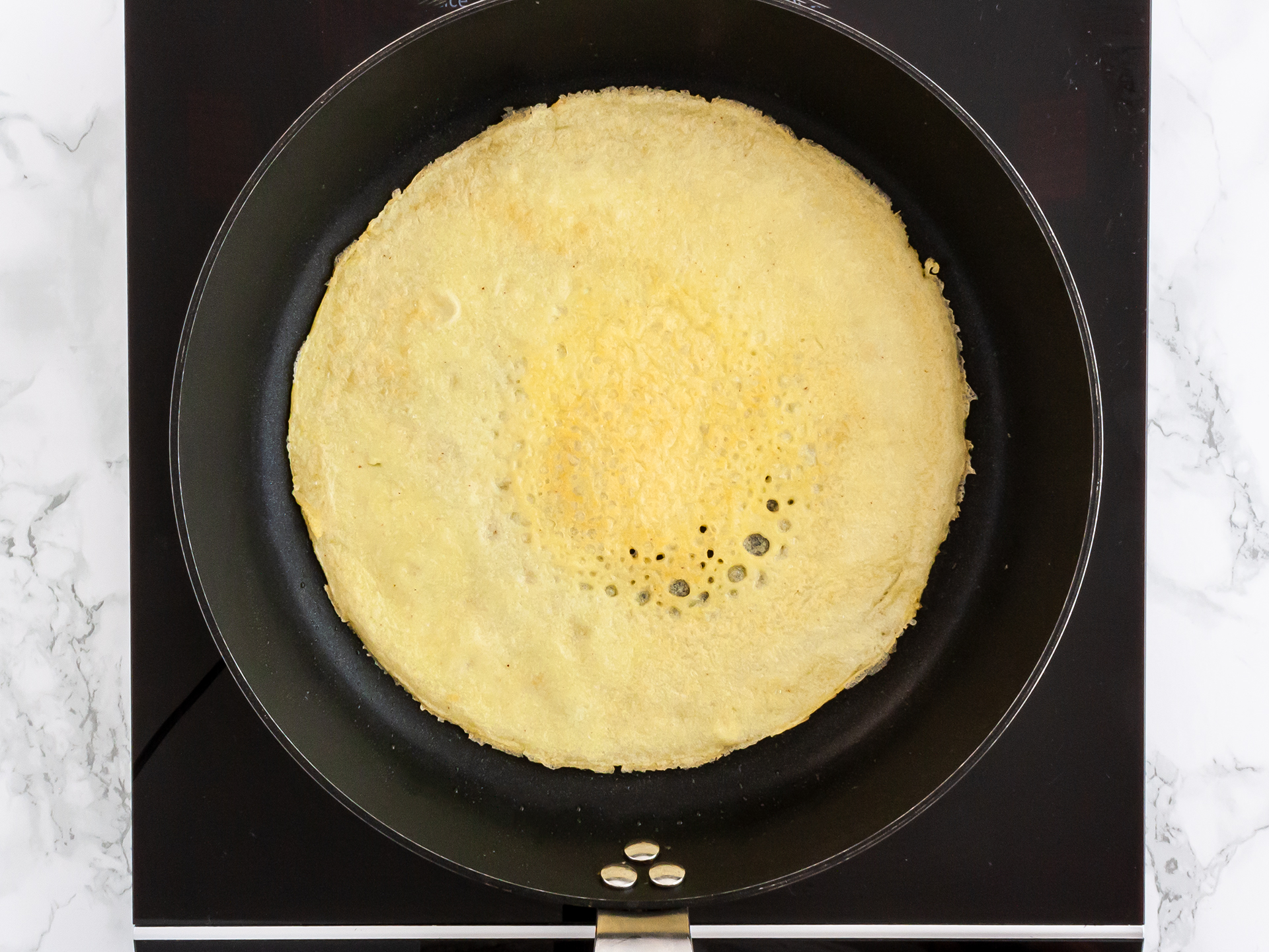 Step 3.1 of Gluten Free Rice Flour Crêpes Recipe