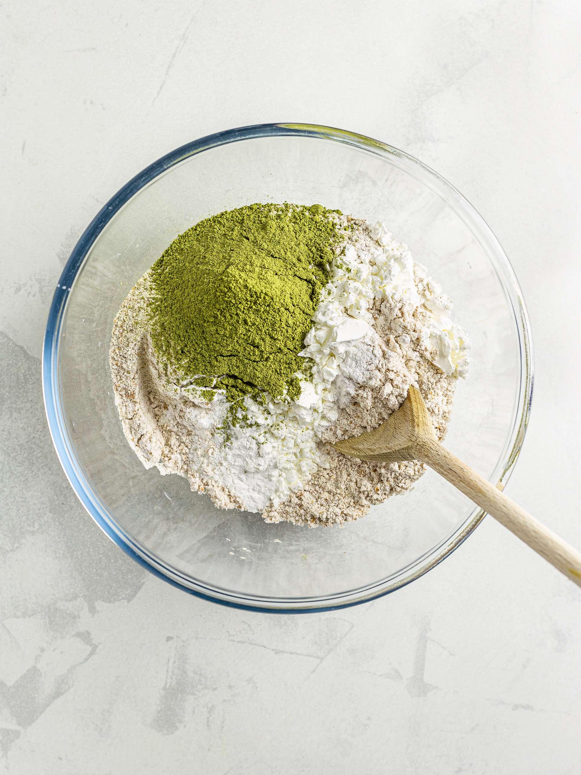 matcha muffins ingredients