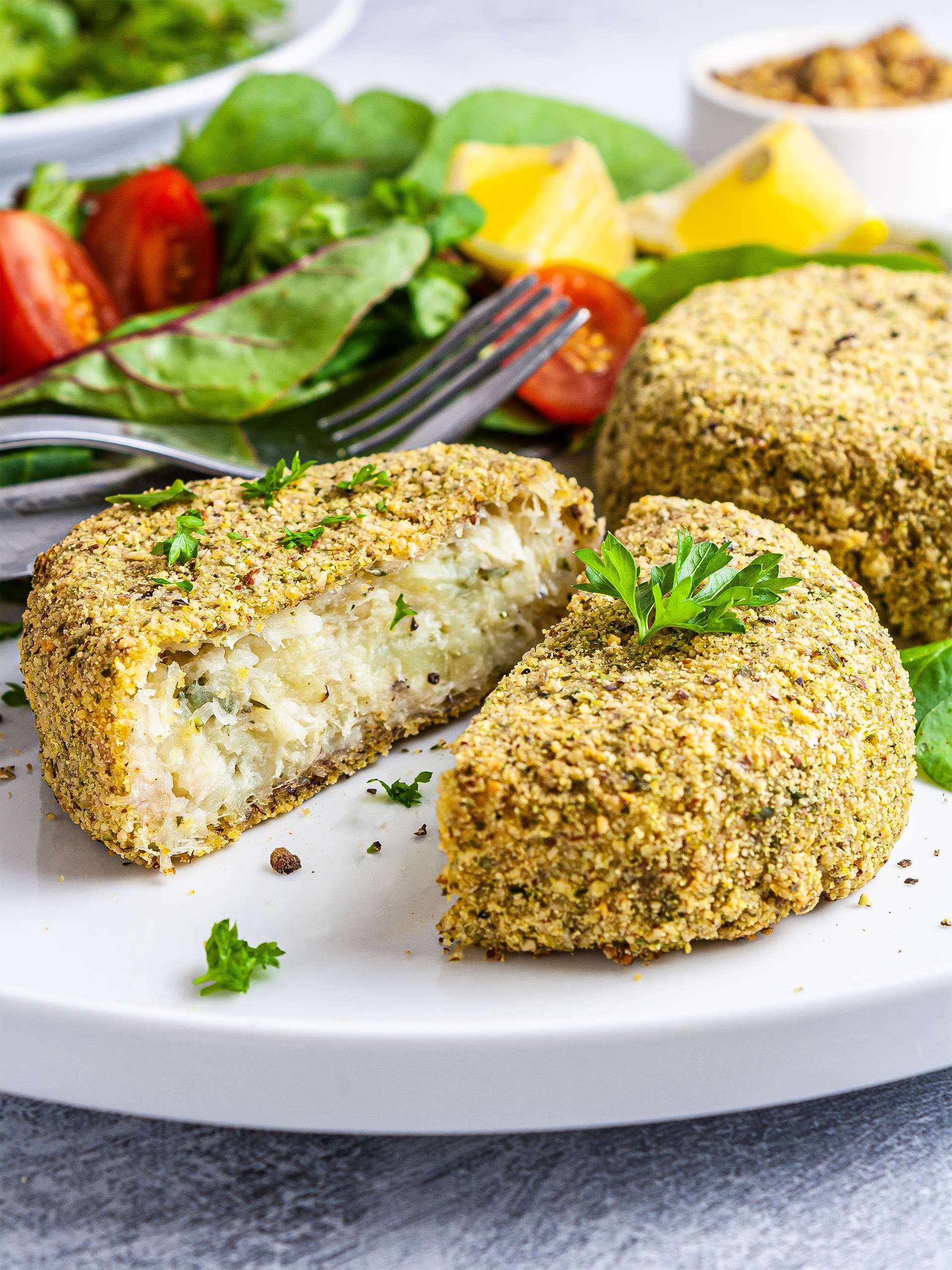 Gluten-Free Oven-Baked Fish Cakes Recipe Thumbnail