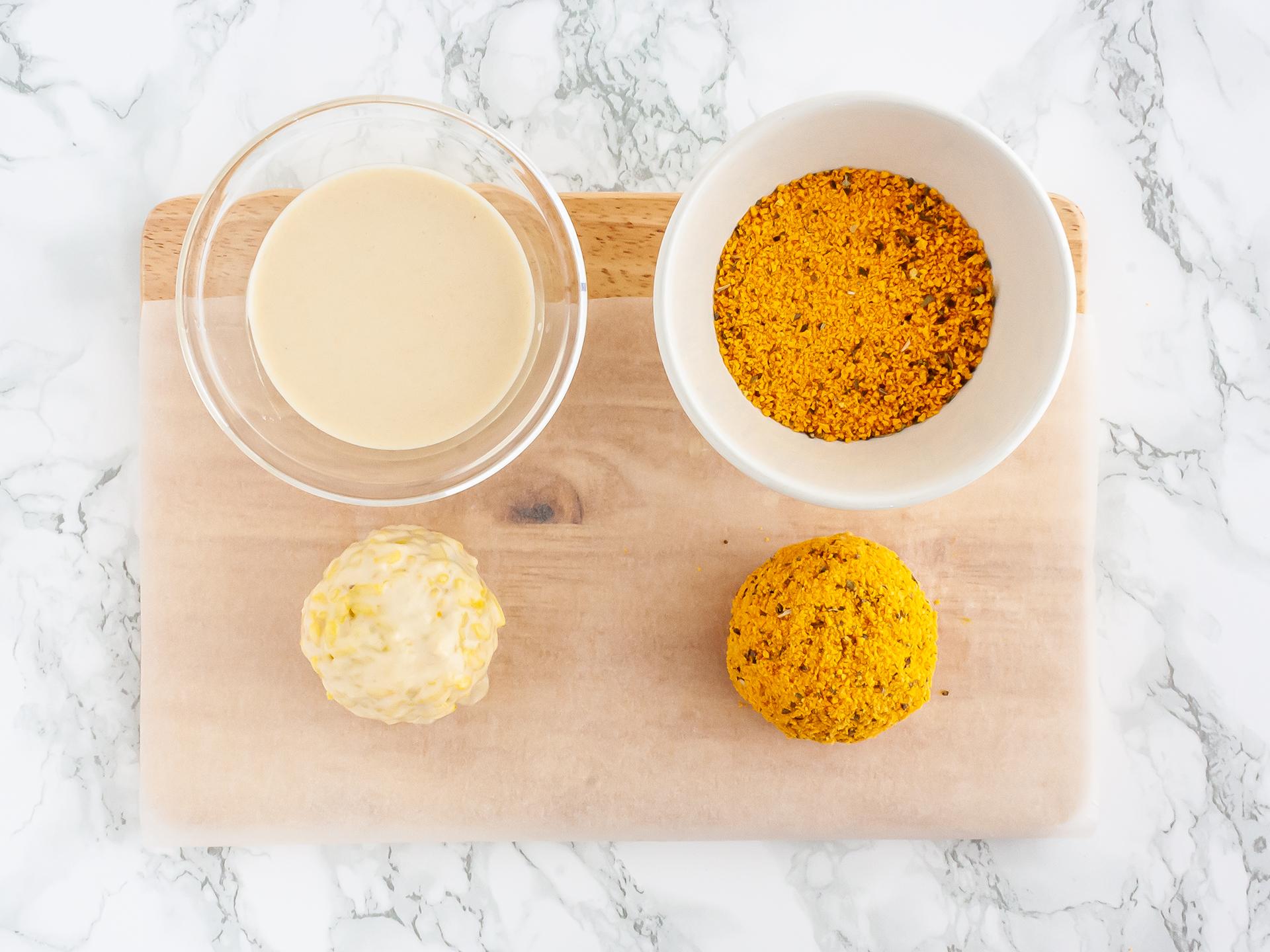 Step 4.2 of Vegetarian Arancini Recipe