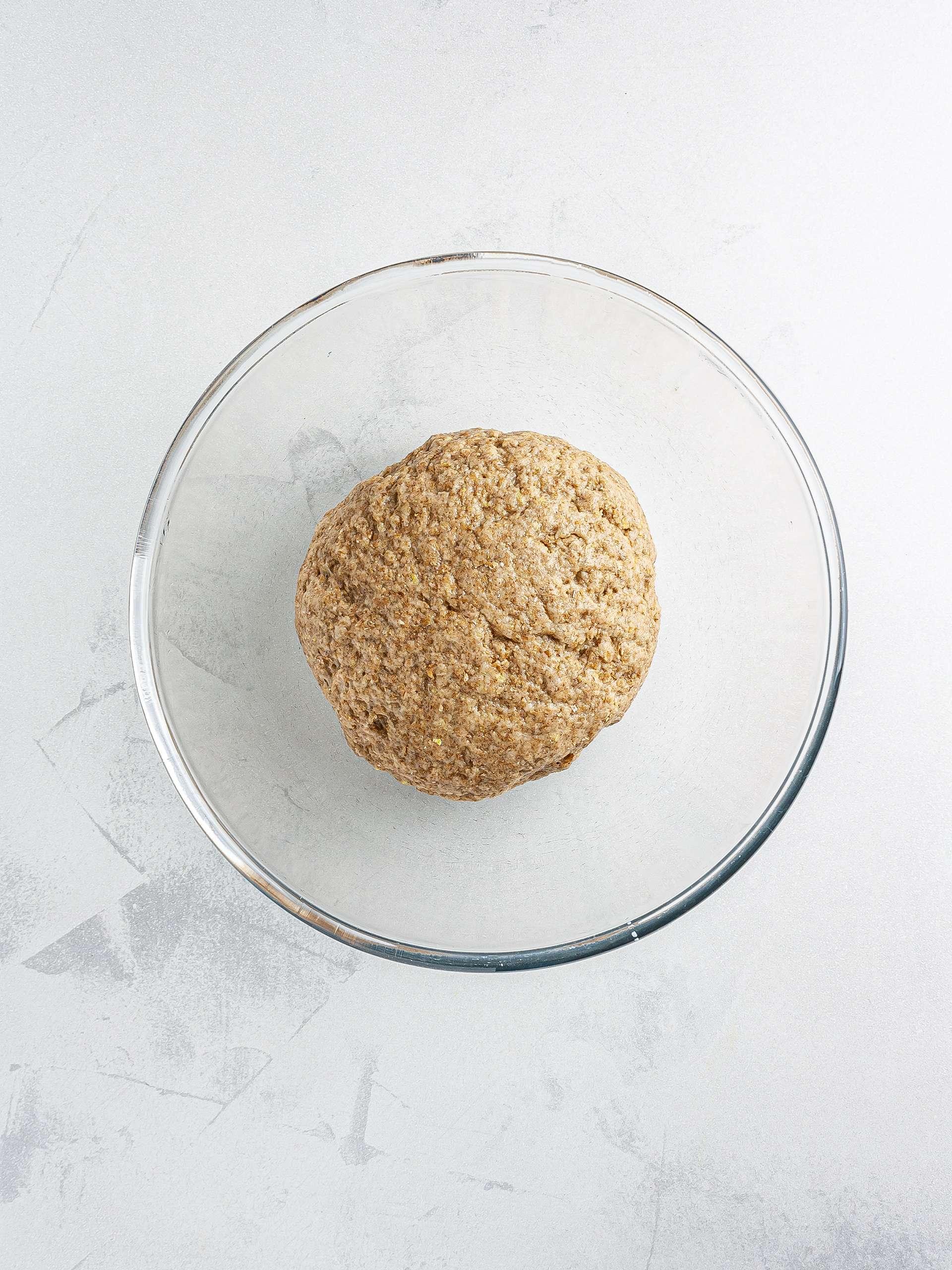 Chin chin dough in a bowl