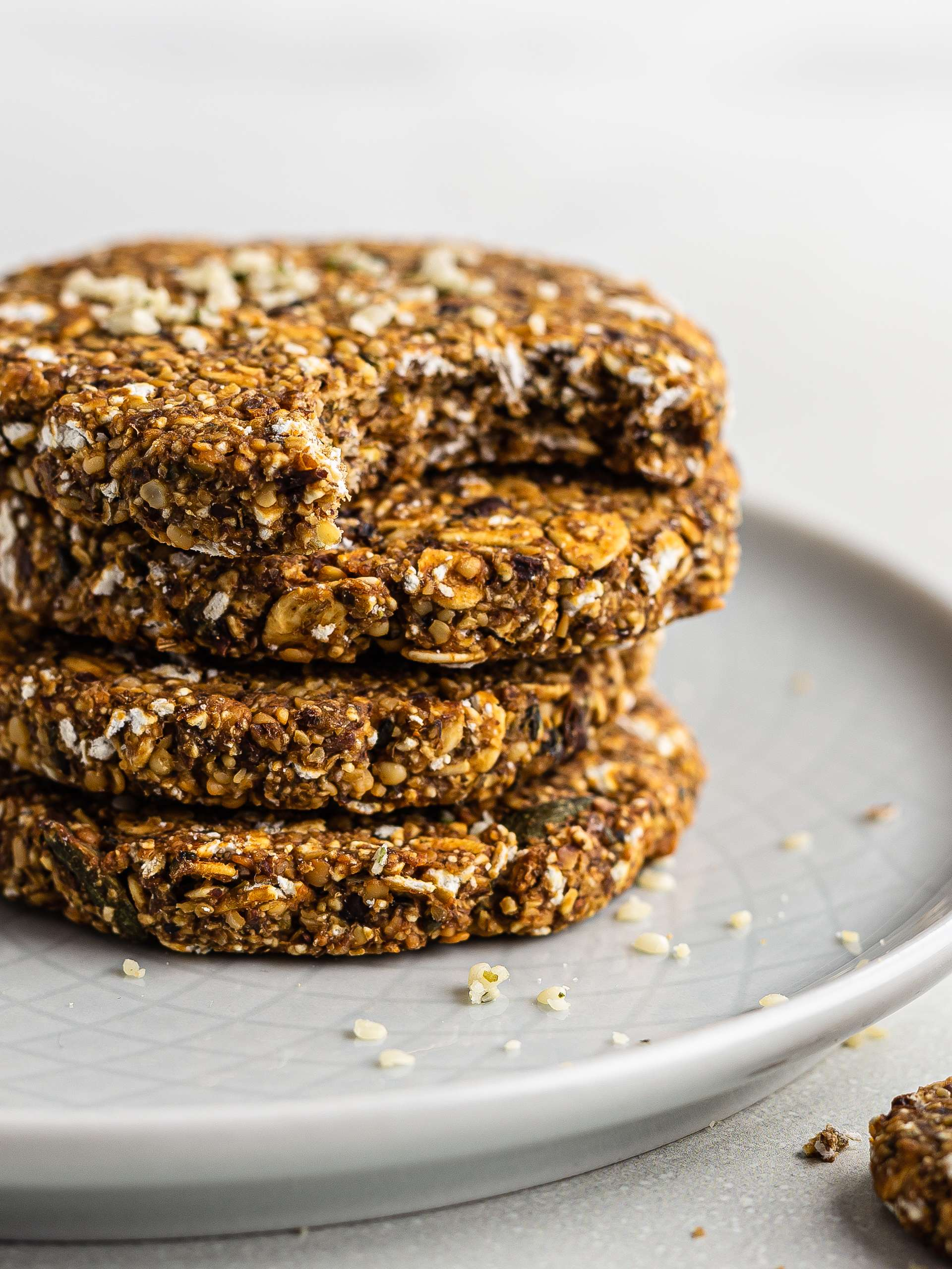 Hemp Seed Cookies {Sugar-Free, High-Protein}  Thumbnail