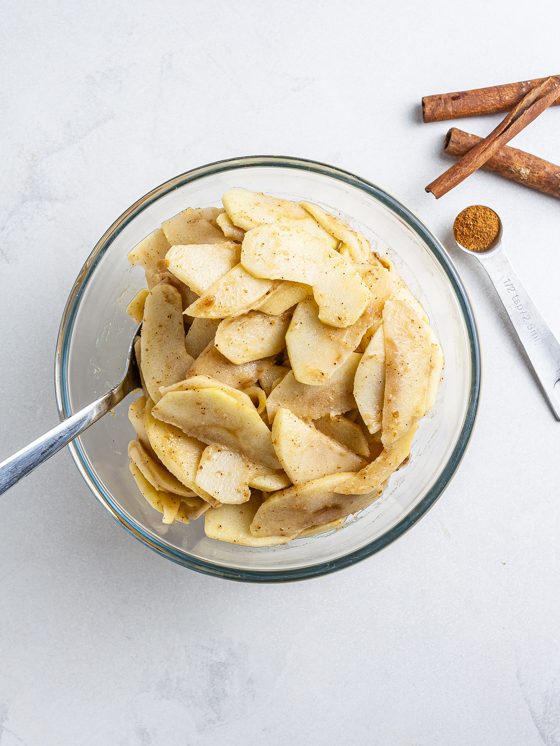 Step 2.2 of Vegan Apple Pie Recipe