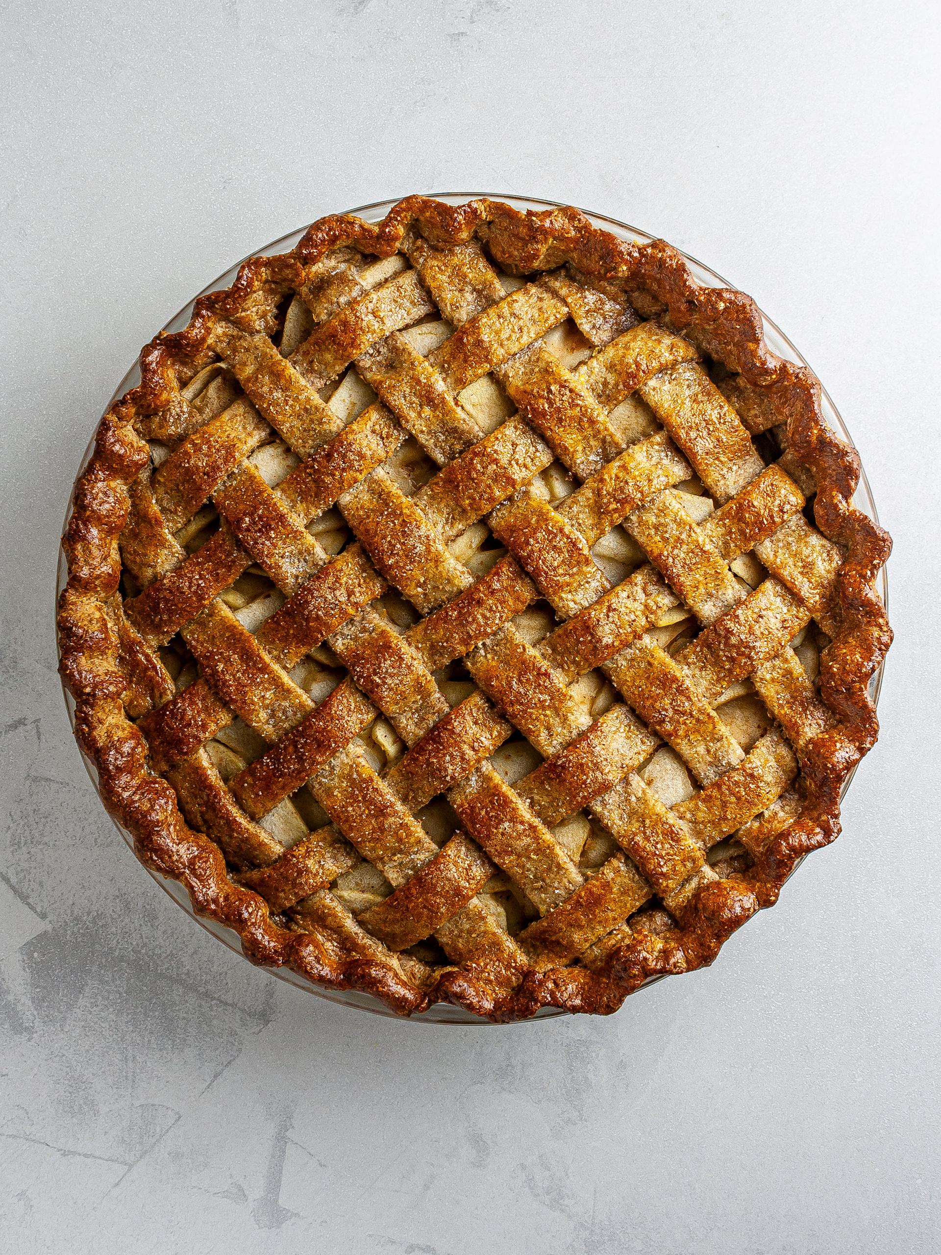 Step 5.2 of Vegan Apple Pie Recipe