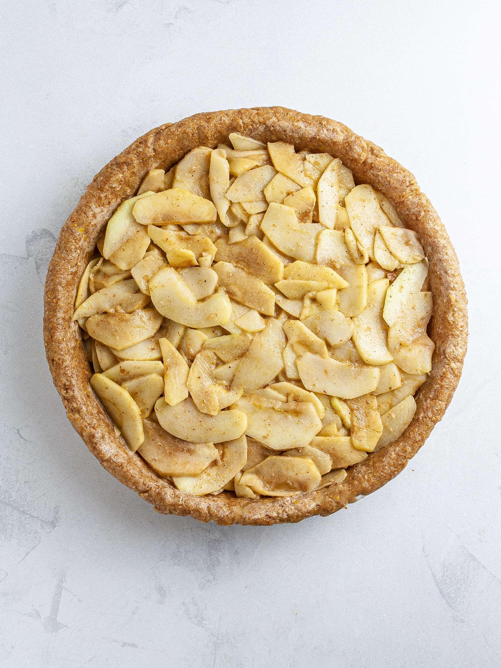 Step 4.2 of Vegan Apple Pie Recipe