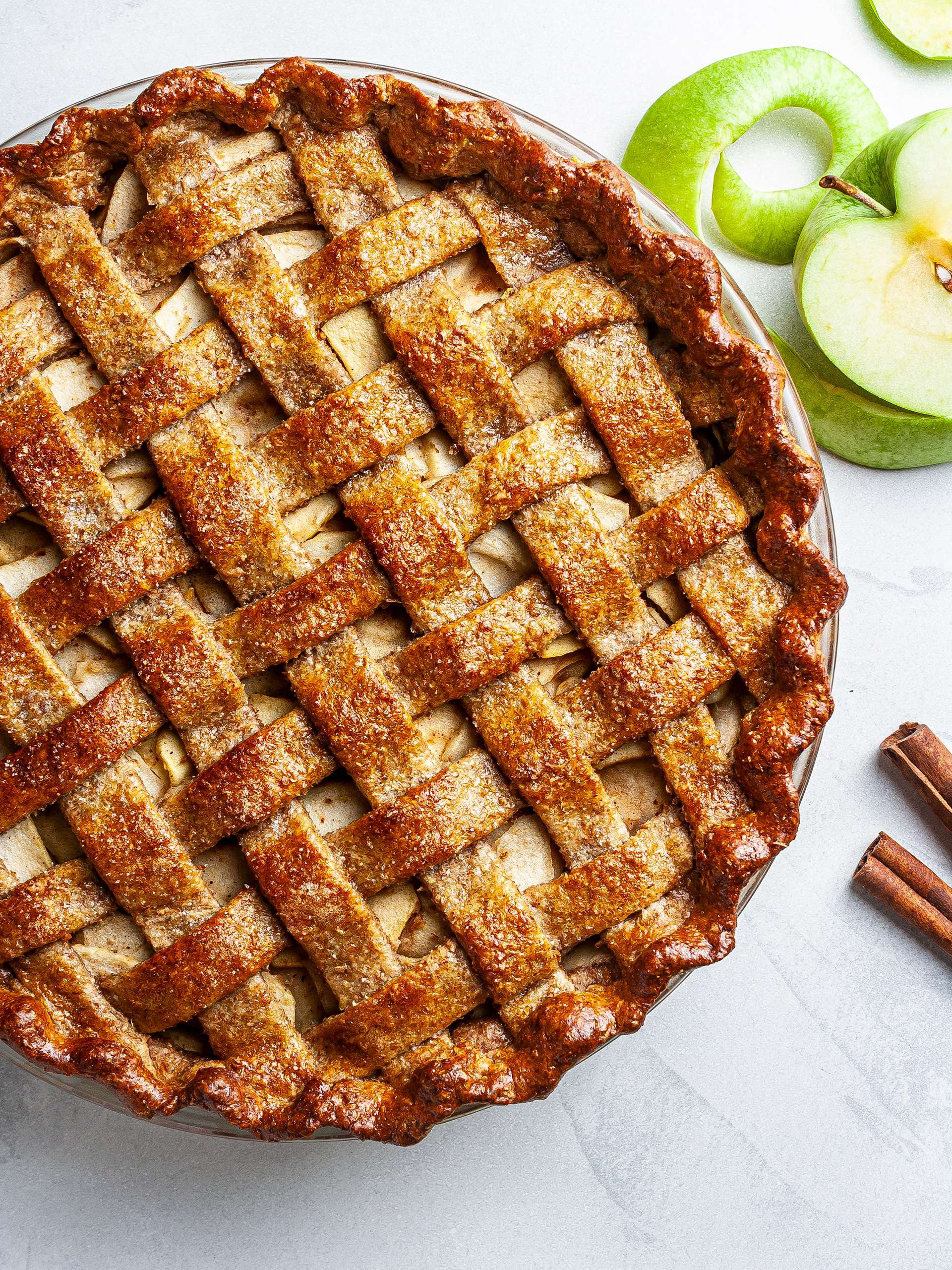 Vegan Apple Pie Recipe Thumbnail