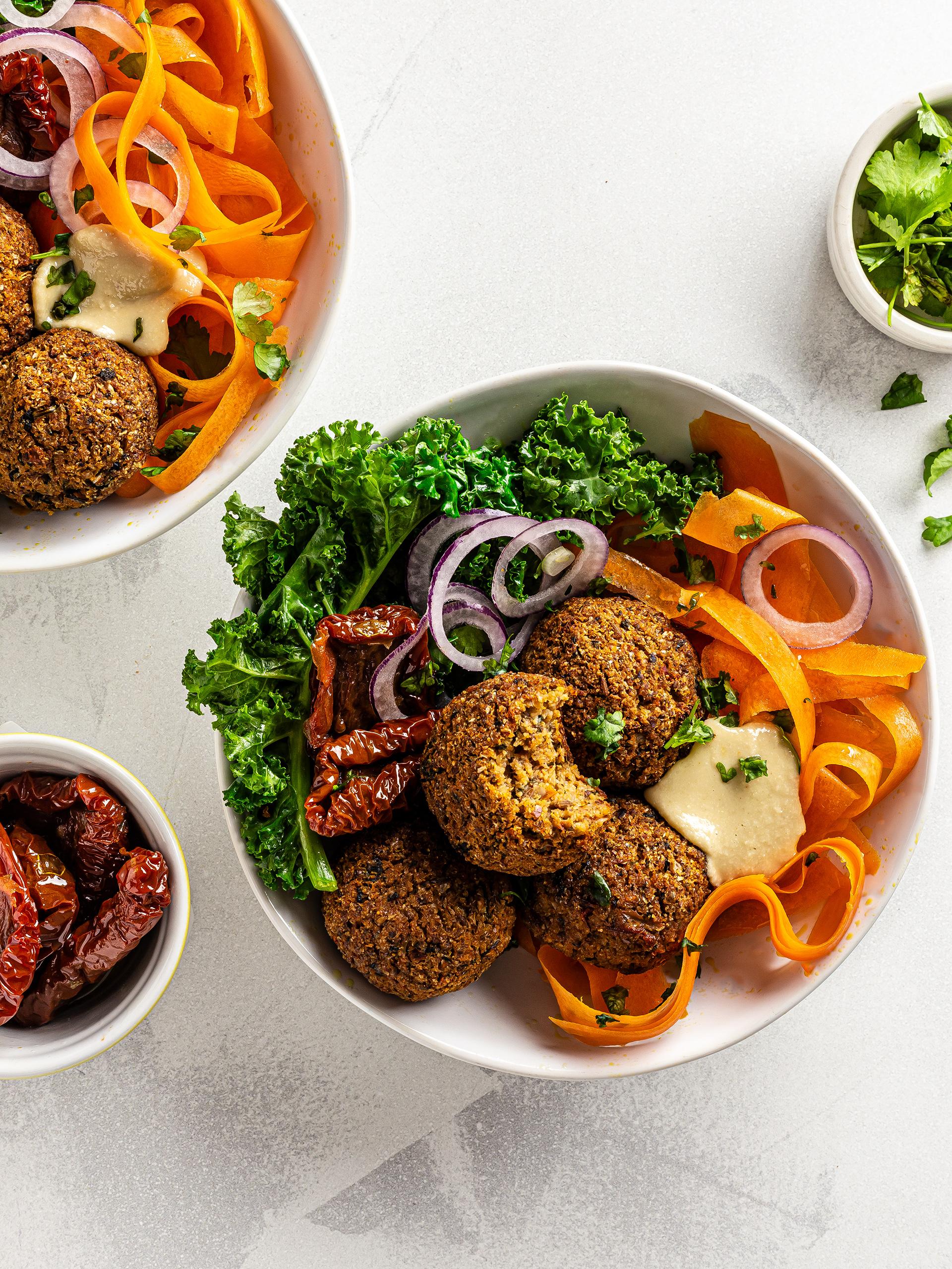 Low-Carb Cauliflower Falafels Recipe Preview