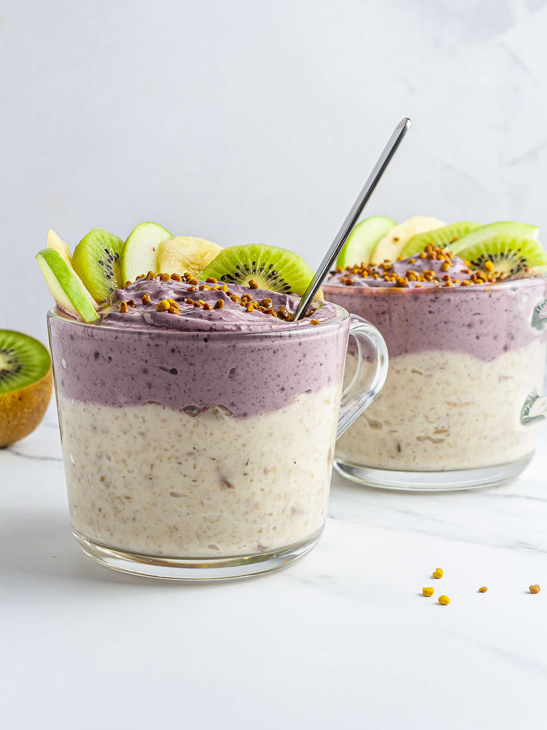 Acai Yogurt Oatmeal Bowl Recipe Thumbnail