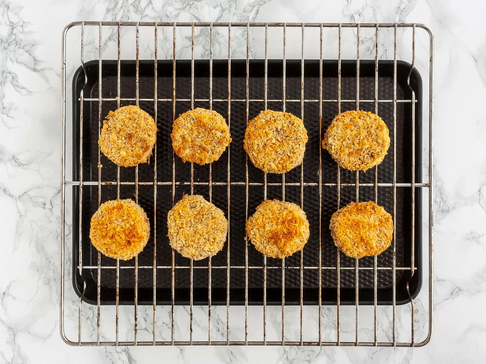 oven baked katsu sweet potatoes