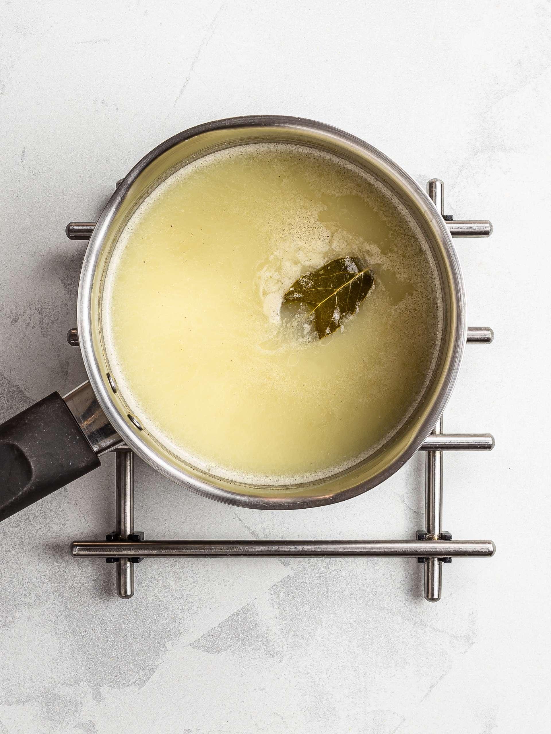 how to make vegan bechamel sauce