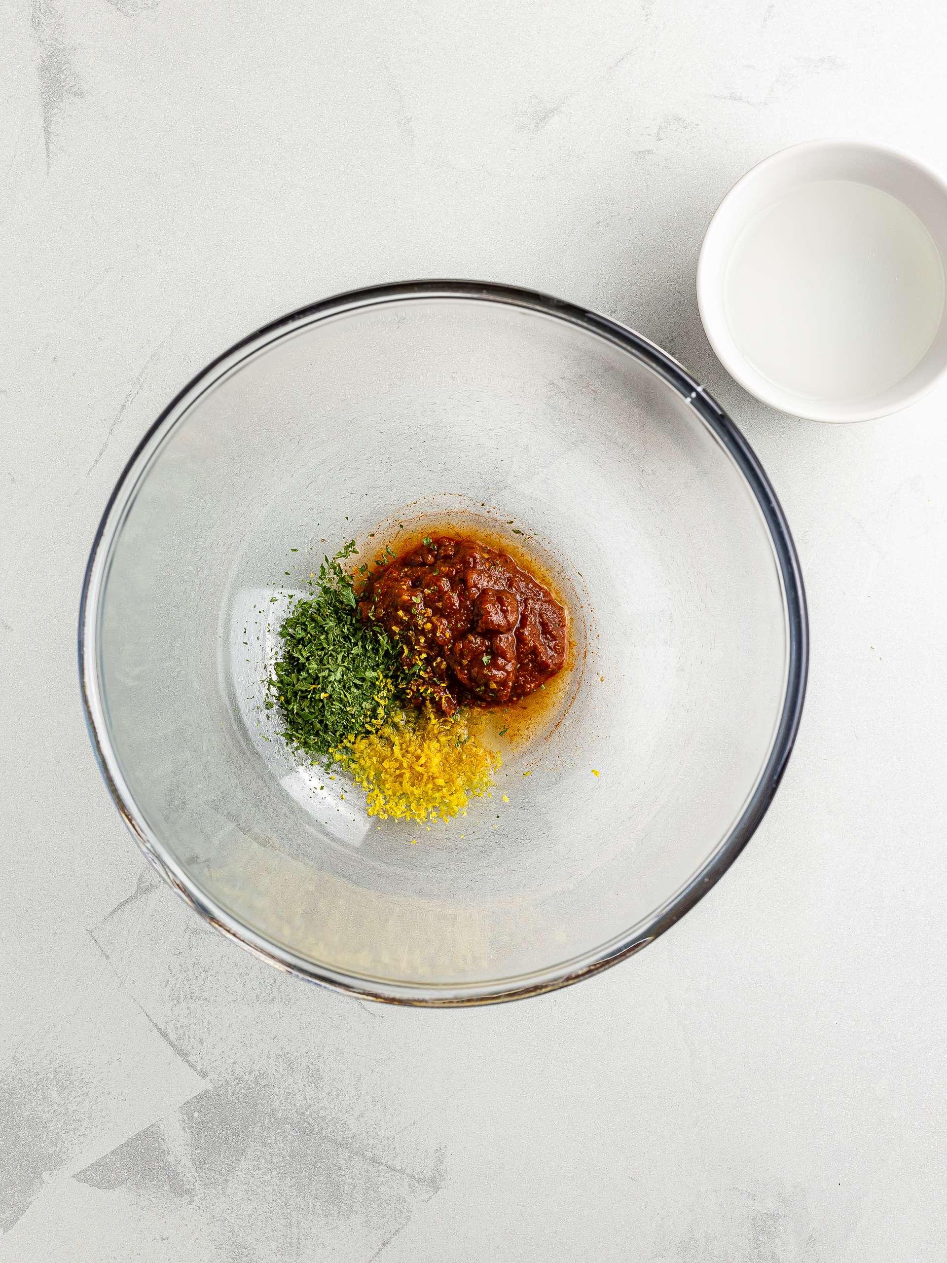 harissa paste sauce for pasta salad