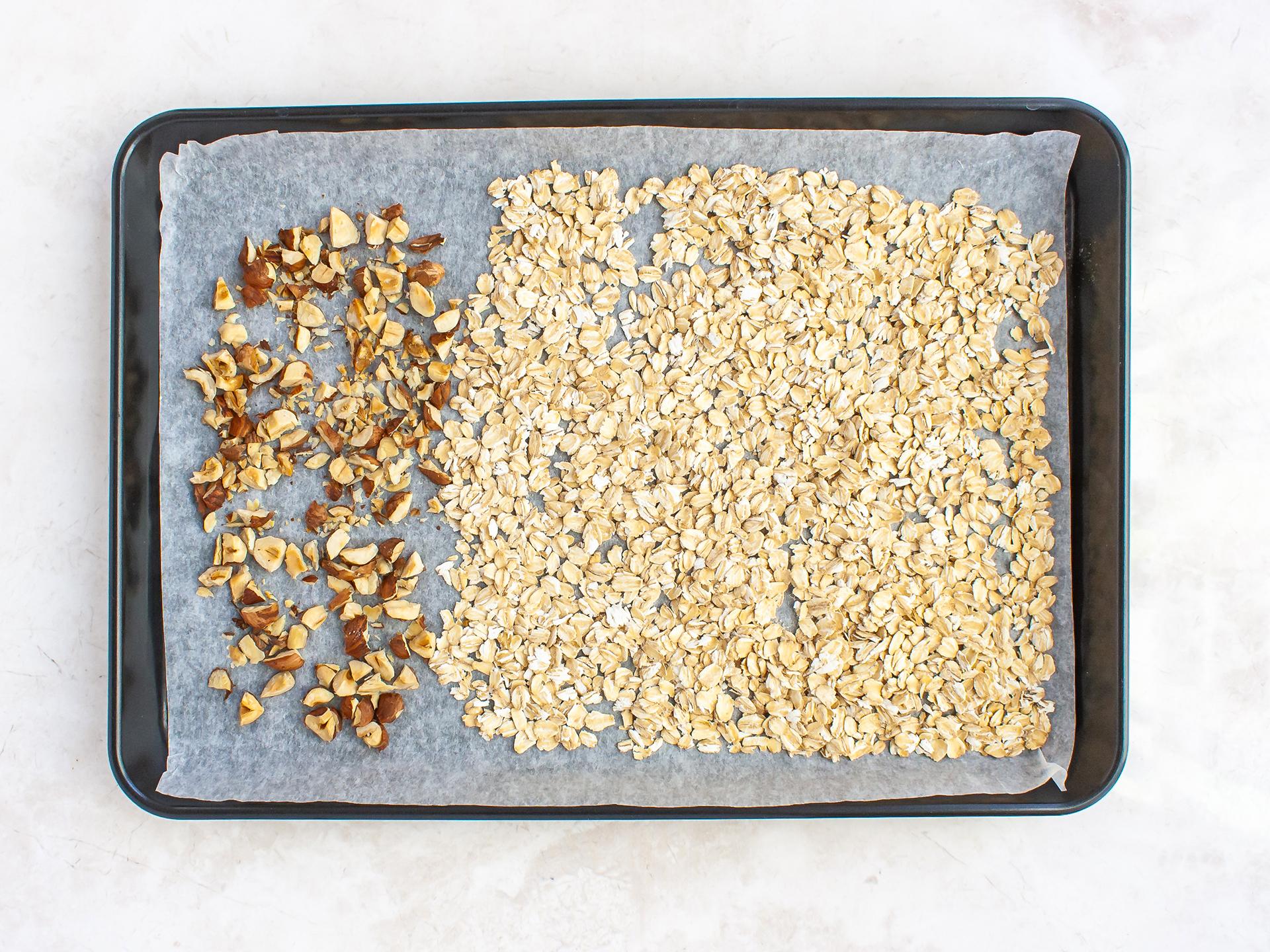 Step 1.1 of Healthy Vegan Plum Crumble Recipe