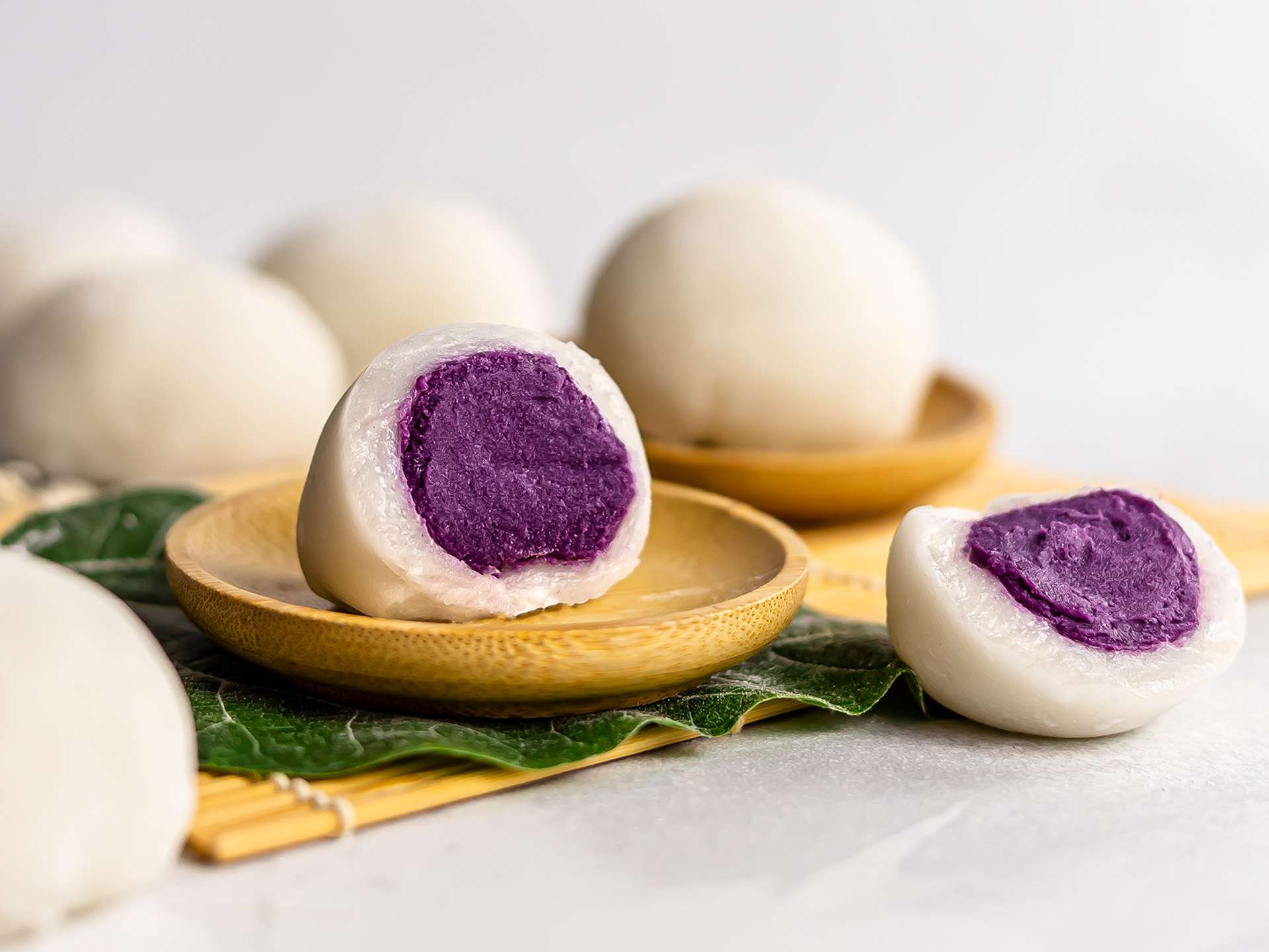 Vegan Ube Butter Mochi